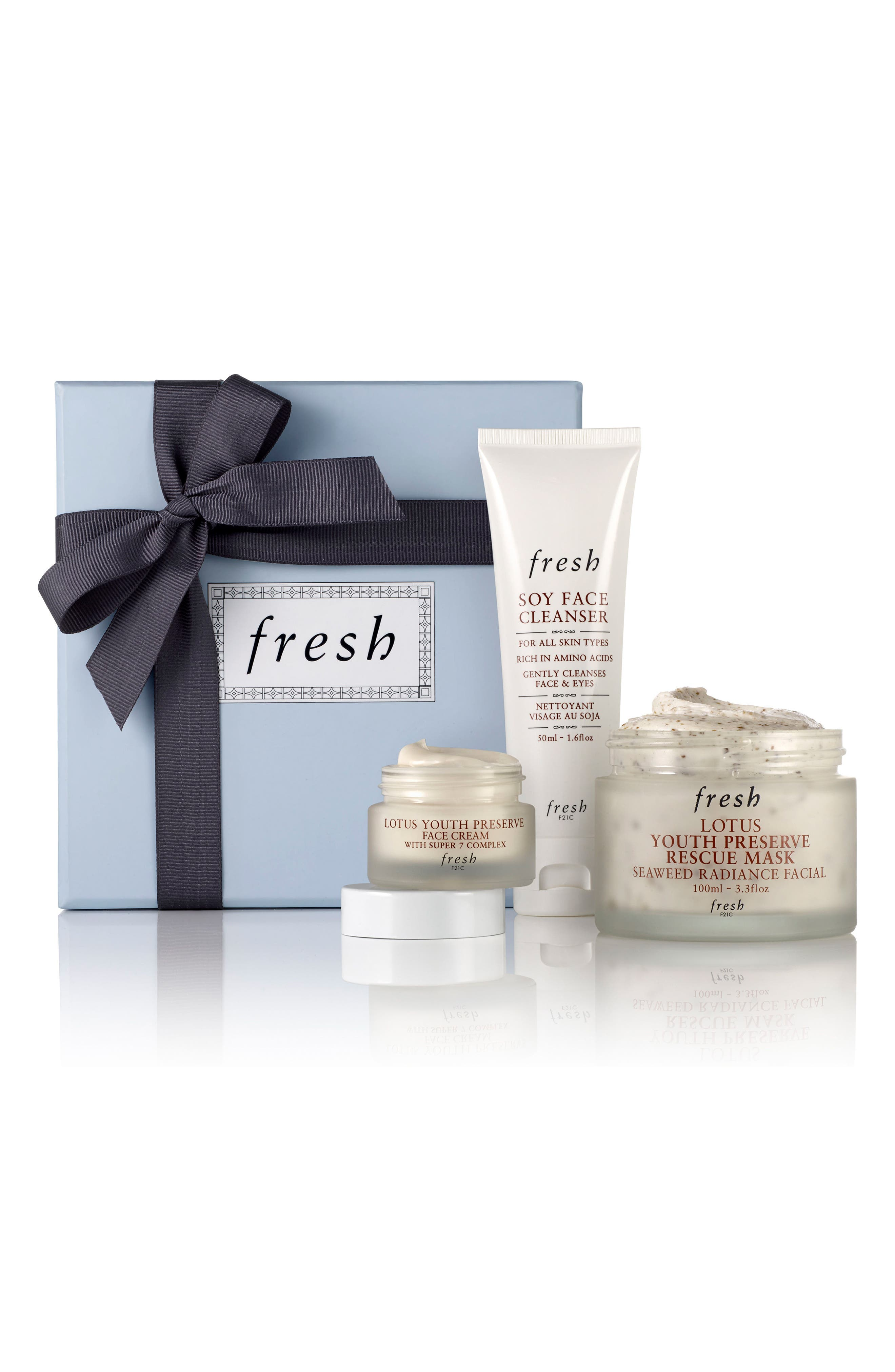FRESH<SUP>®</SUP>, Radiance Boosting Skin Care Set, Main thumbnail 1, color, 000