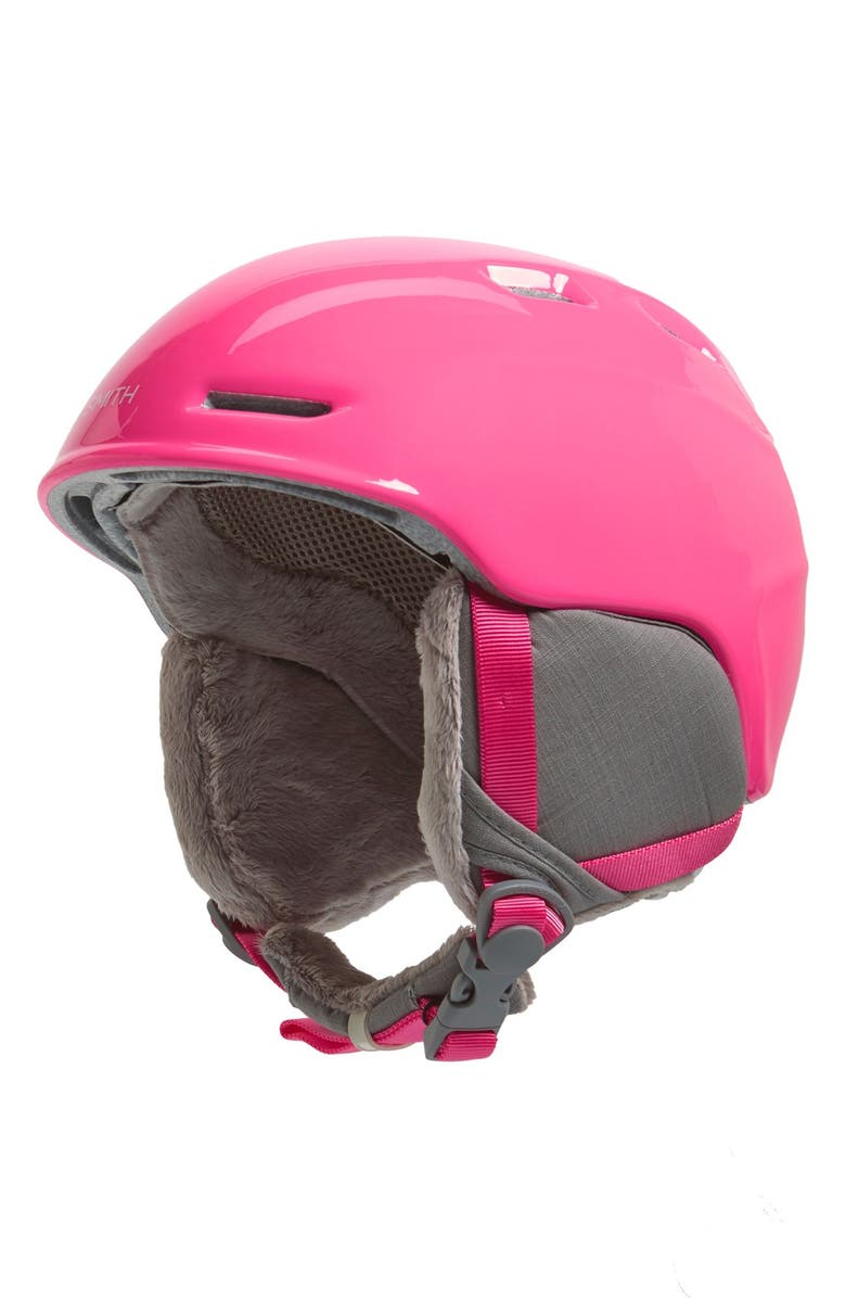 Smith 'ZOOM JR.' SNOW HELMET - PINK