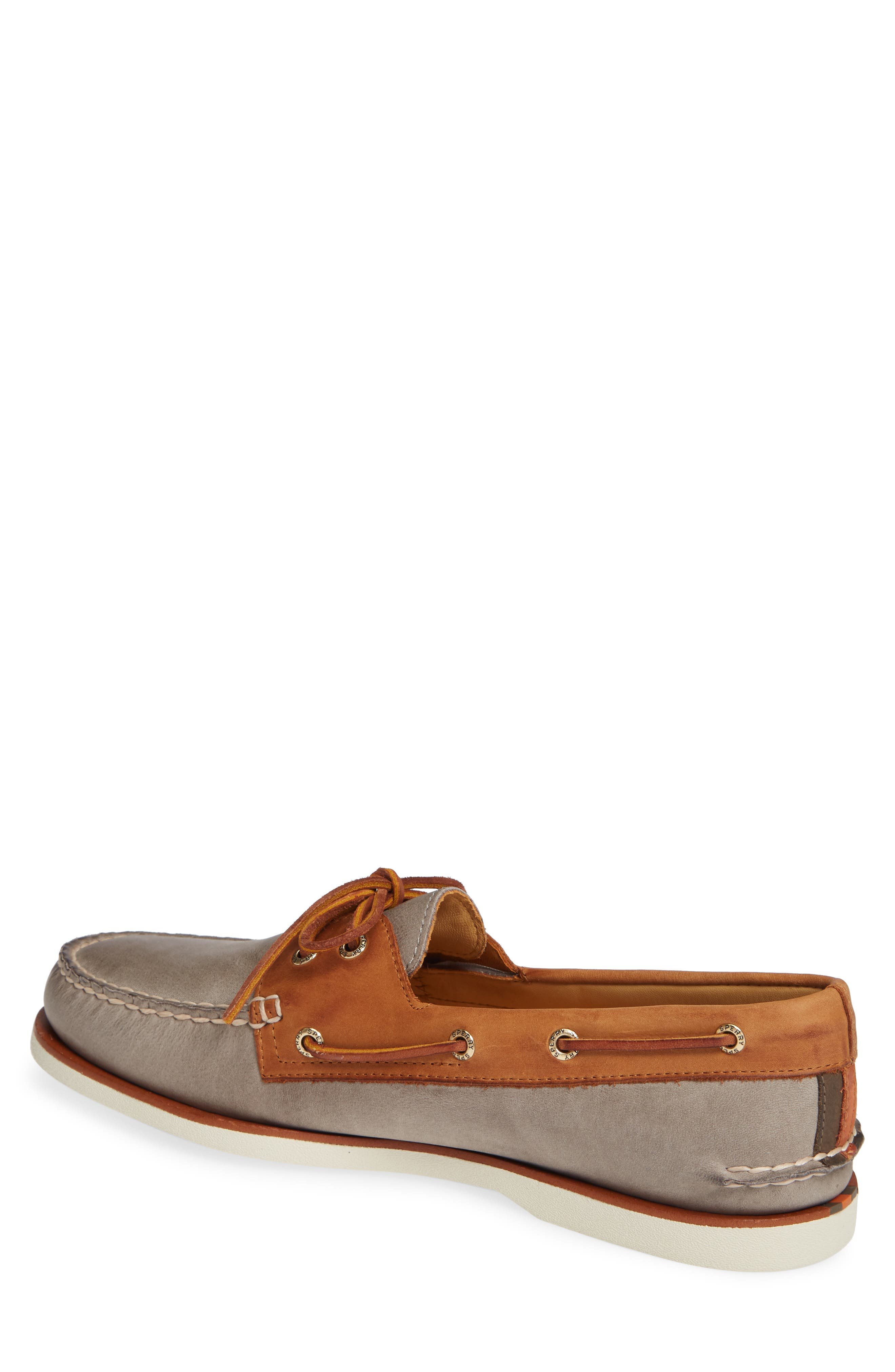 SPERRY, Gold Cup AO Boat Shoe, Alternate thumbnail 2, color, 020