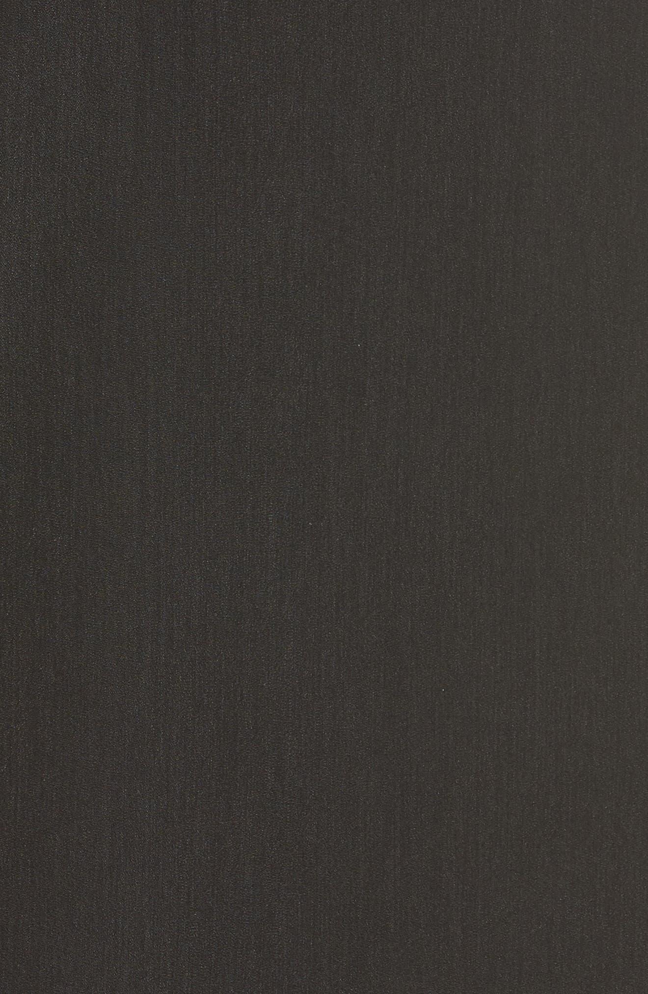 HALOGEN<SUP>®</SUP>, Bow Detail Cold Shoulder Top, Alternate thumbnail 5, color, 001