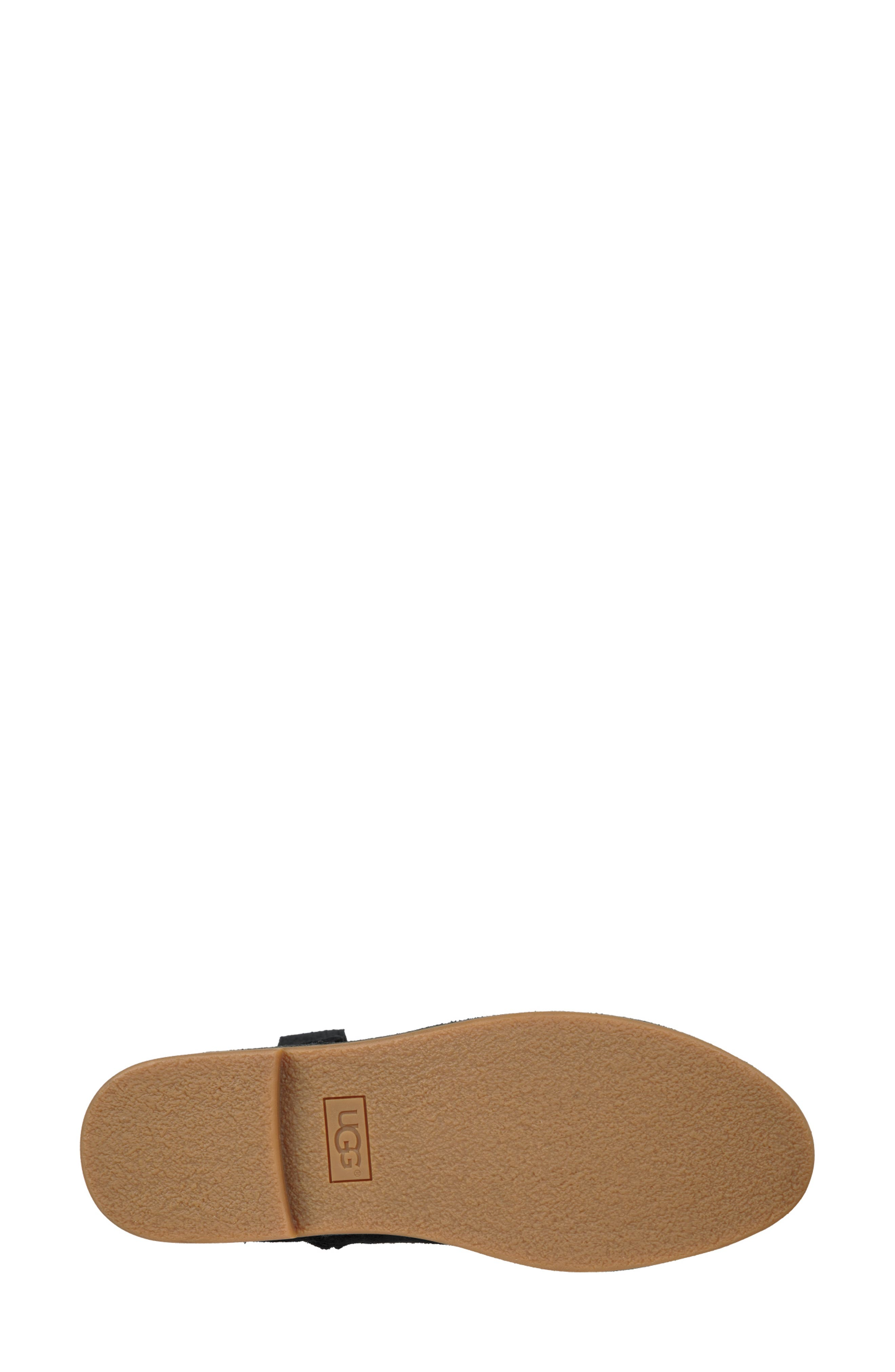 UGG<SUP>®</SUP>, Catica Boot, Alternate thumbnail 5, color, BLACK SUEDE