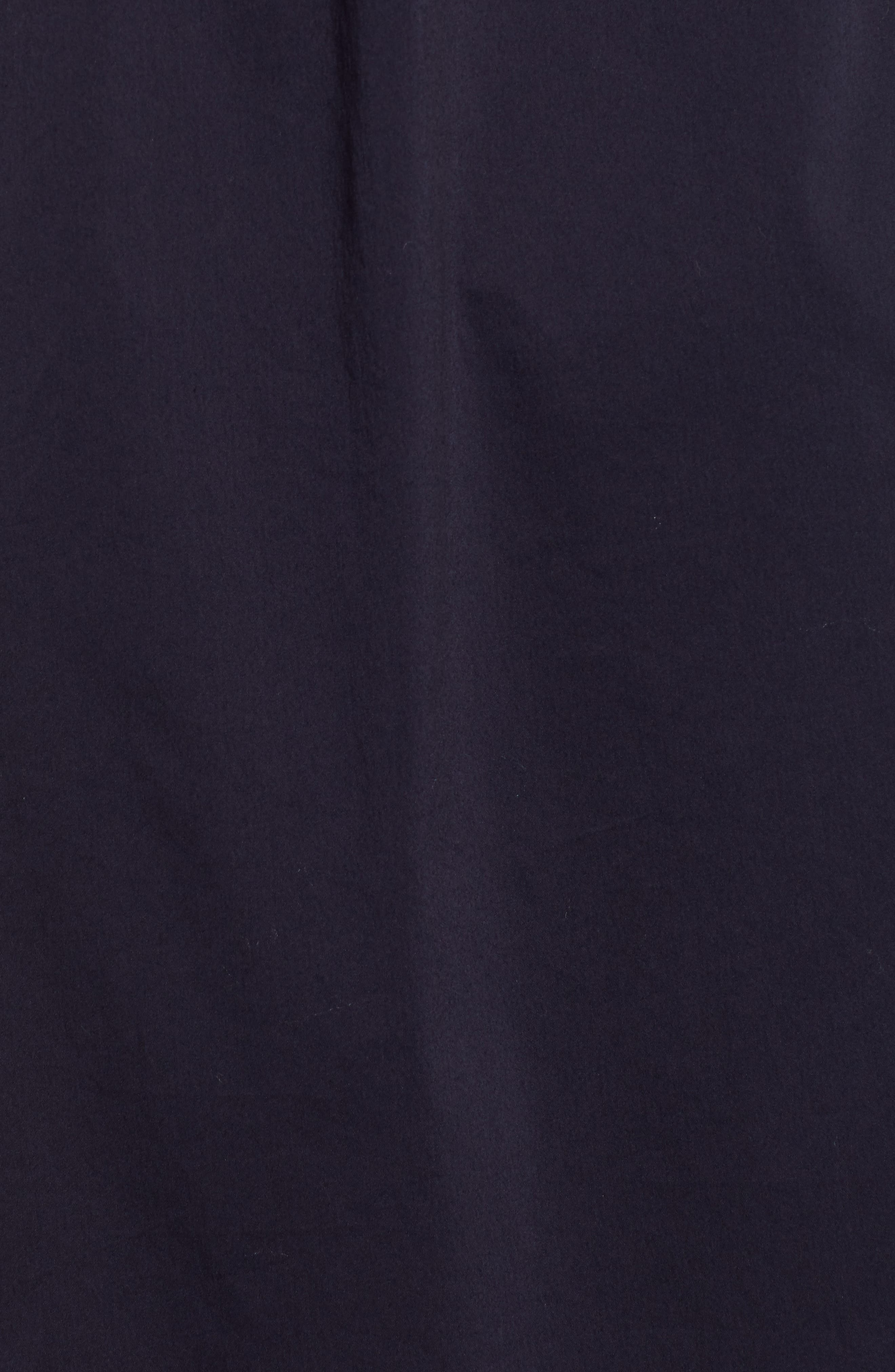 1901, Tie Waist Shirtdress, Alternate thumbnail 6, color, NAVY NIGHT