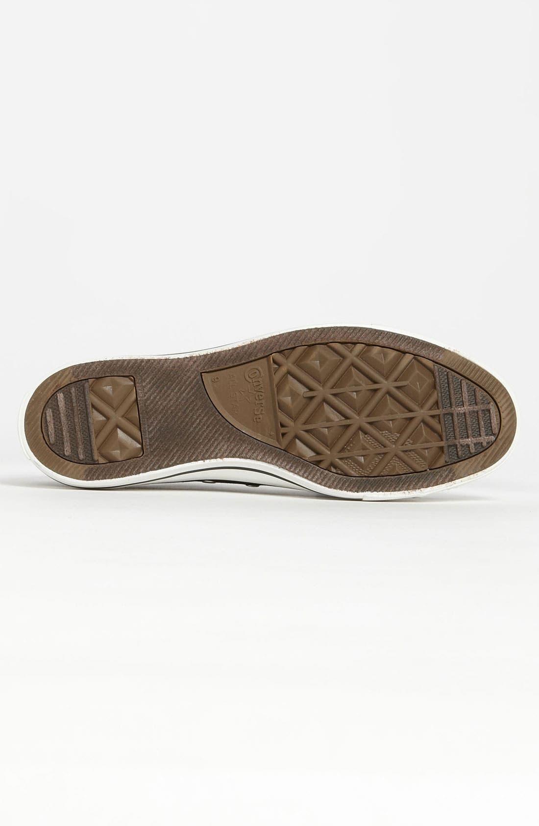 CONVERSE, Chuck Taylor<sup>®</sup> Low Sneaker, Alternate thumbnail 7, color, BLACK