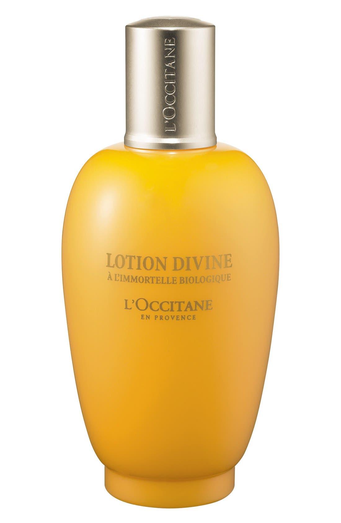 L'OCCITANE, Immortelle Divine Prep Lotion, Main thumbnail 1, color, 000