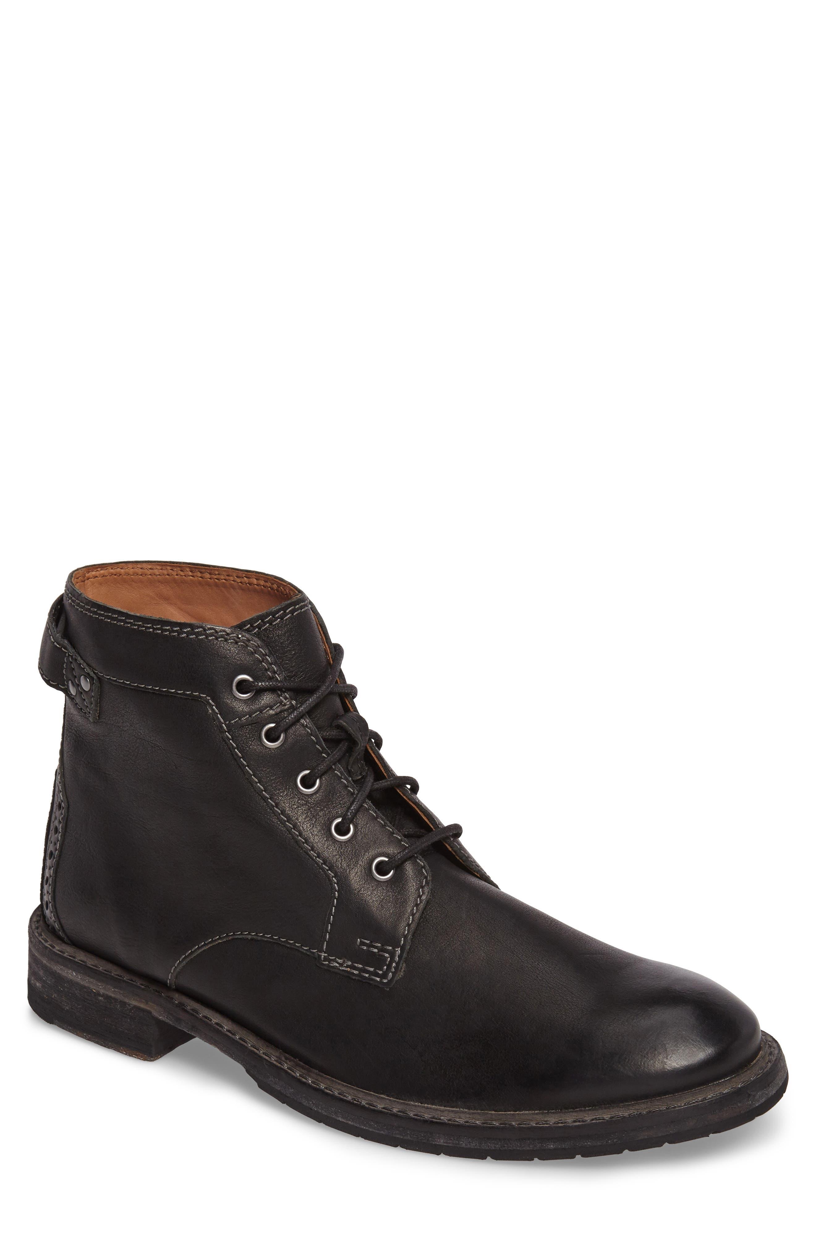 Clarks Clarkdale Bud Plain Toe Boot- Black