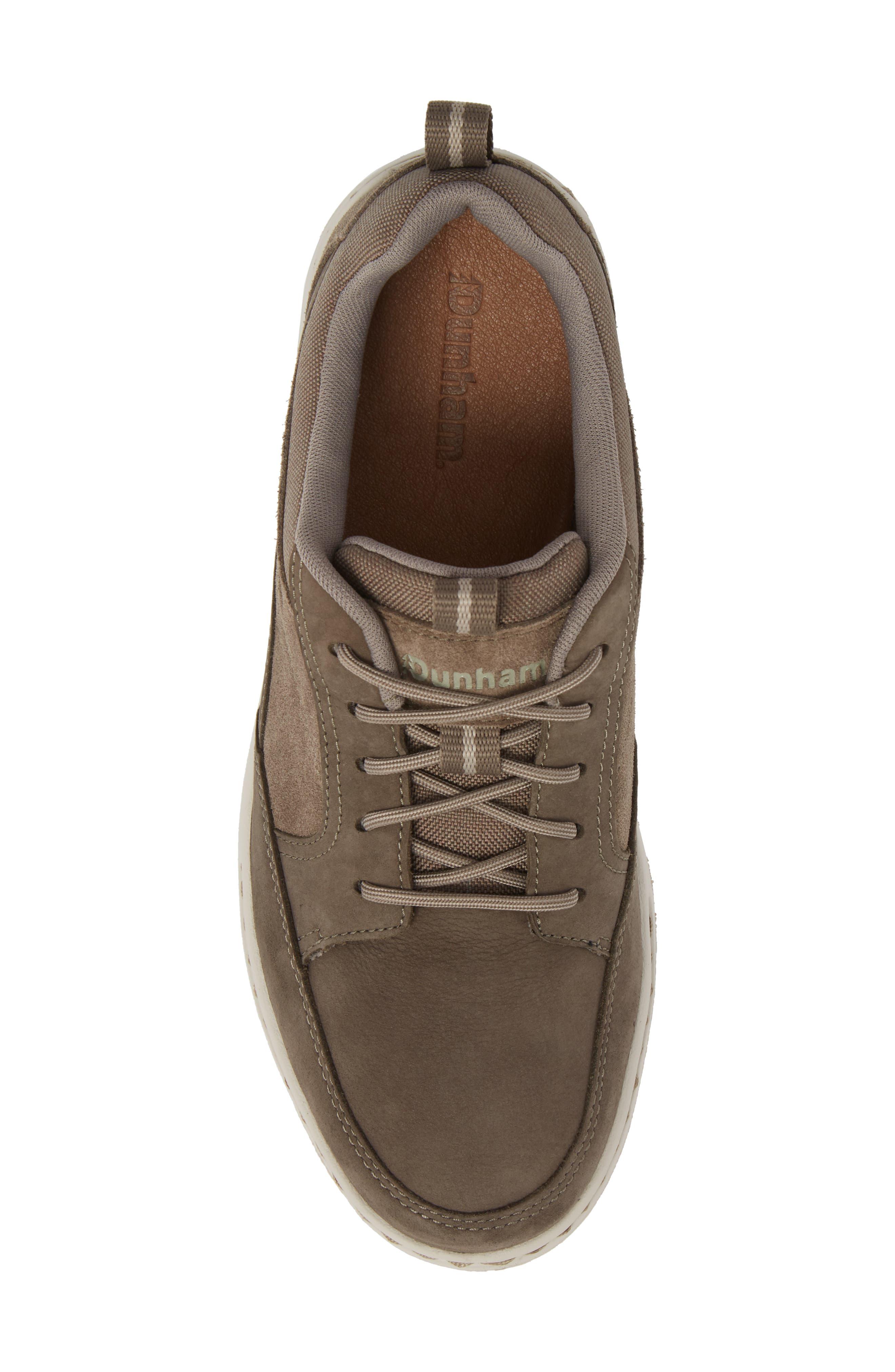 DUNHAM, D Fit Smart Sneaker, Alternate thumbnail 5, color, BROWN