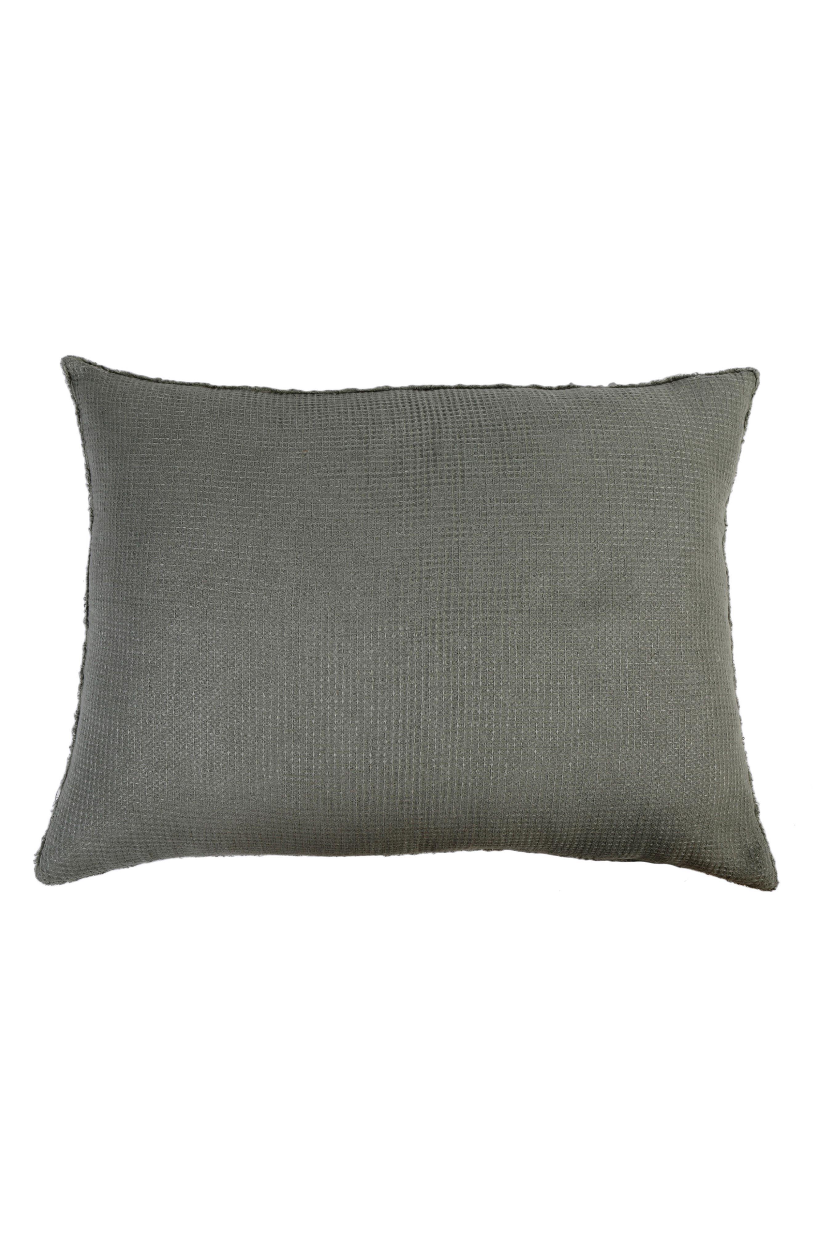 POM POM AT HOME Venice Accent Pillow, Main, color, MOSS