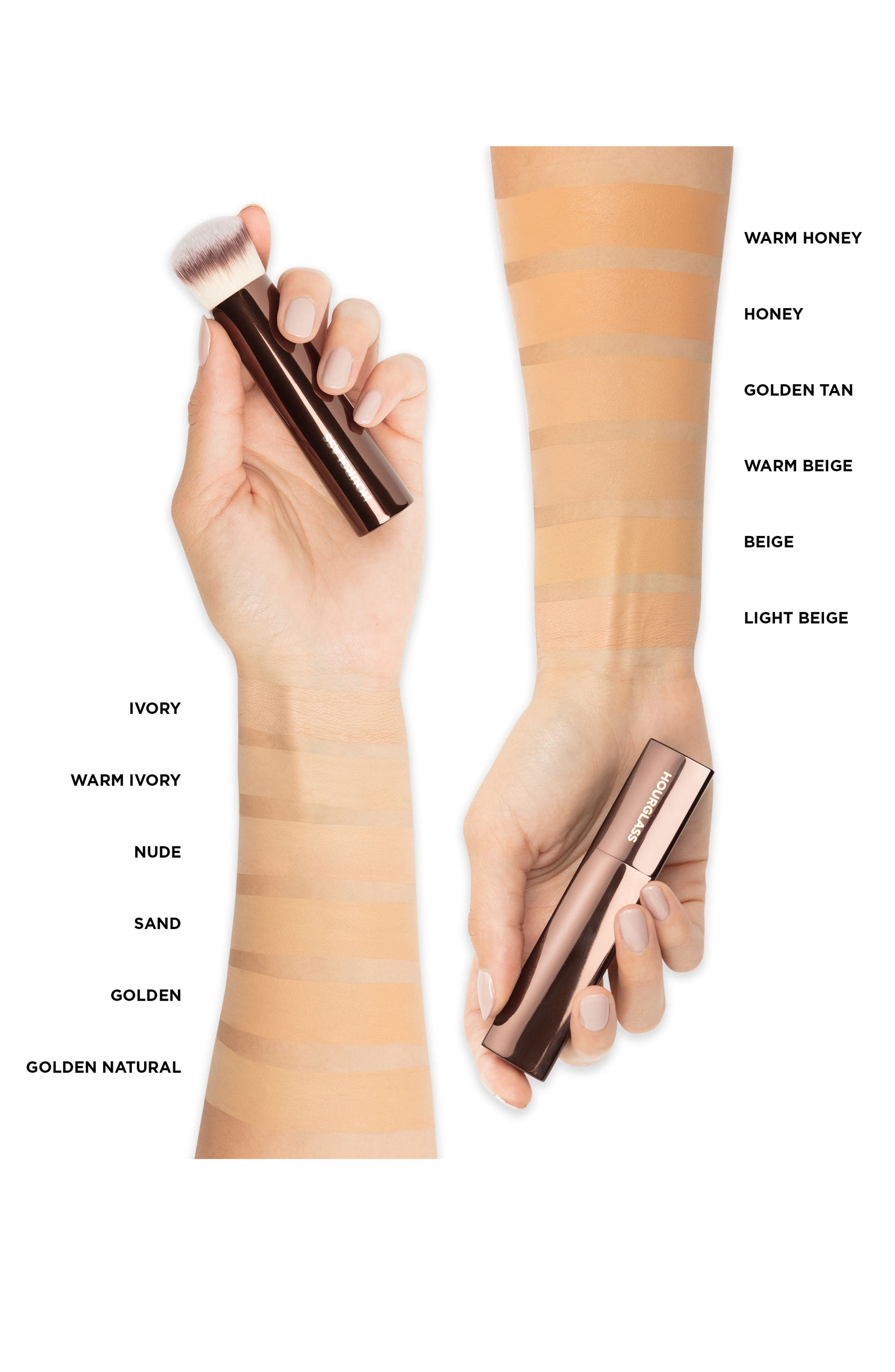 HOURGLASS, Vanish<sup>™</sup> Seamless Finish Foundation Stick, Alternate thumbnail 2, color, GOLDEN TAN
