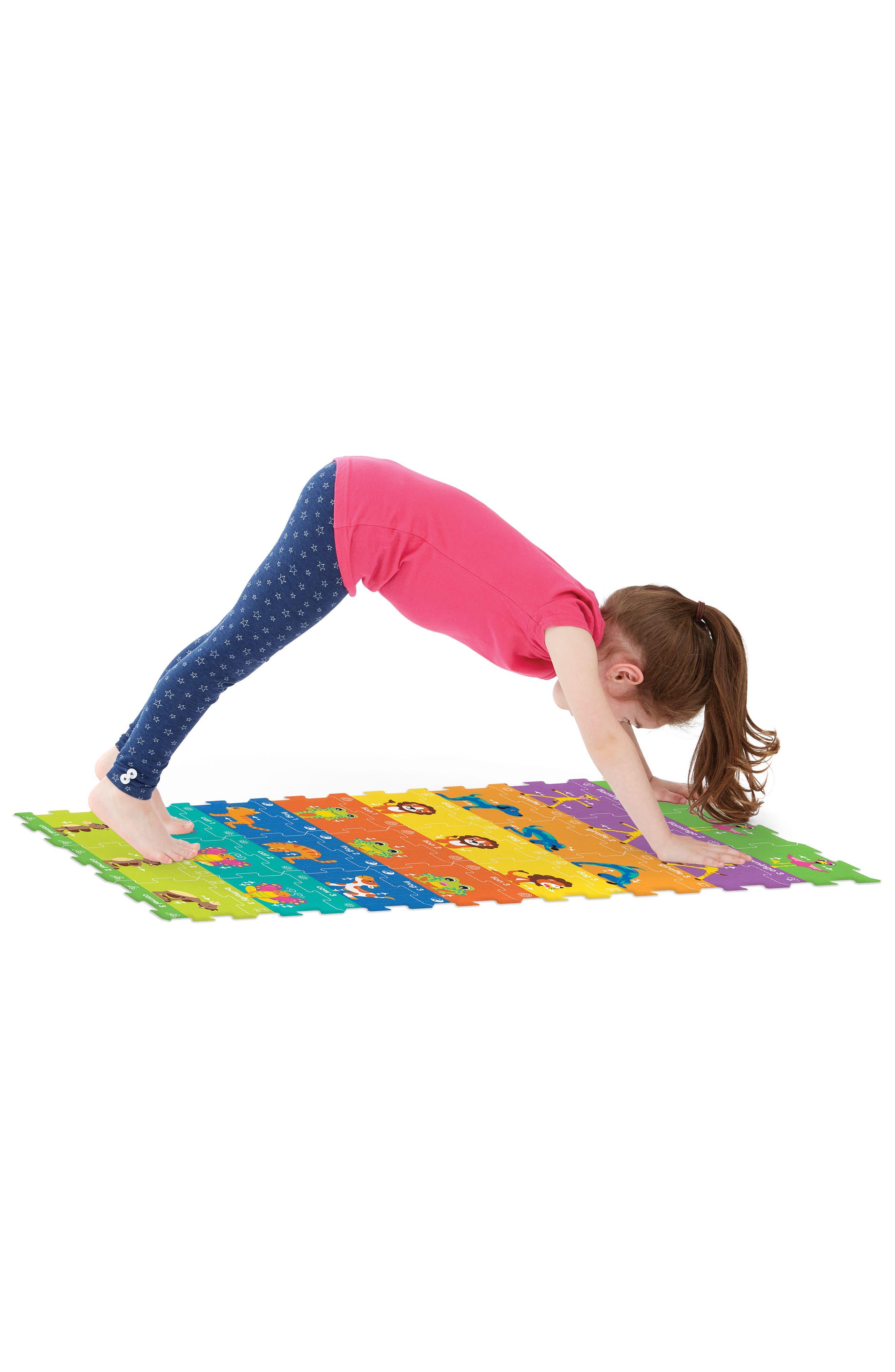 ALEX<SUP>®</SUP> TOYS, Yoga Activity Mat, Alternate thumbnail 6, color, 960
