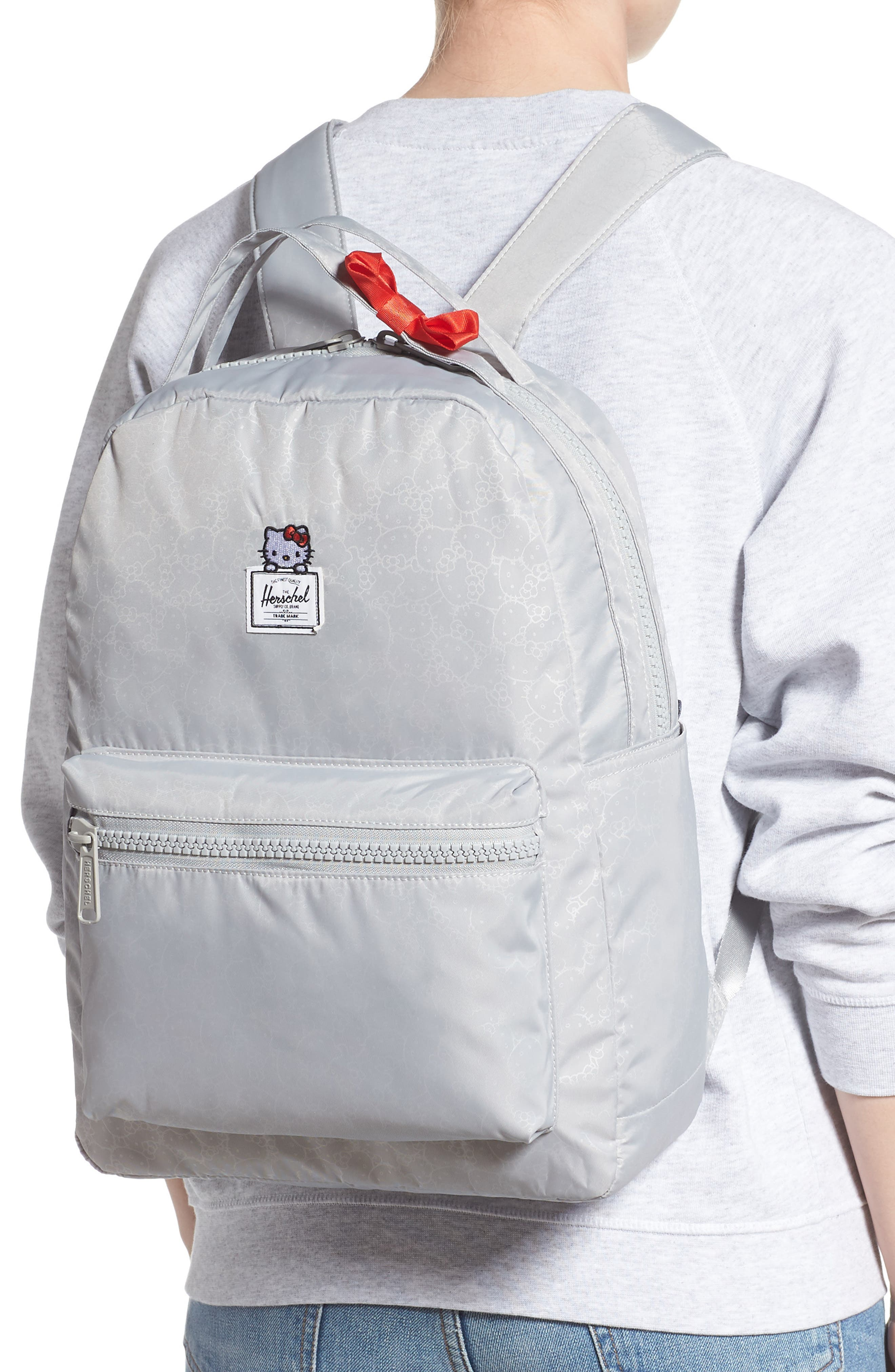 HERSCHEL SUPPLY CO., x Hello Kitty Nova Mid Volume Backpack, Alternate thumbnail 2, color, HIGHRISE