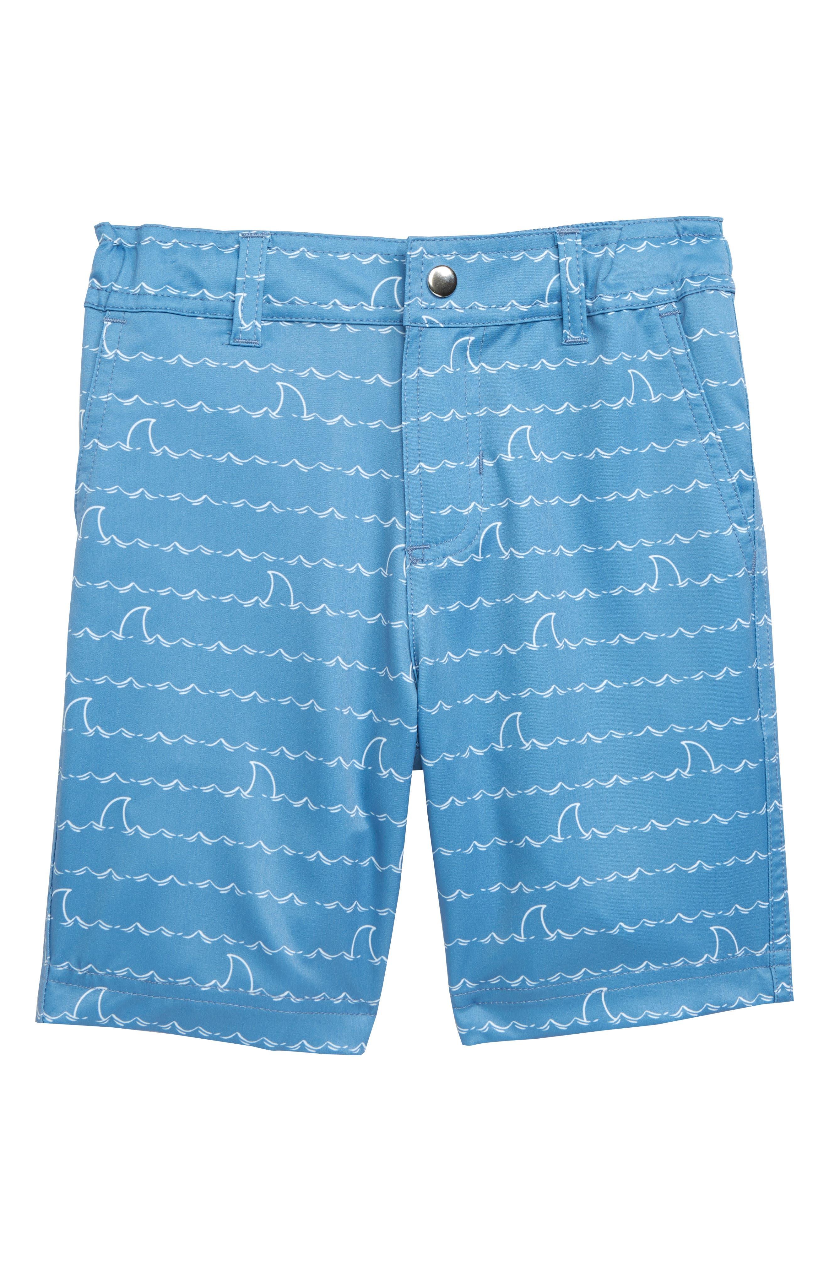 HATLEY, Shark Fin Quick Drying Shorts, Main thumbnail 1, color, 400