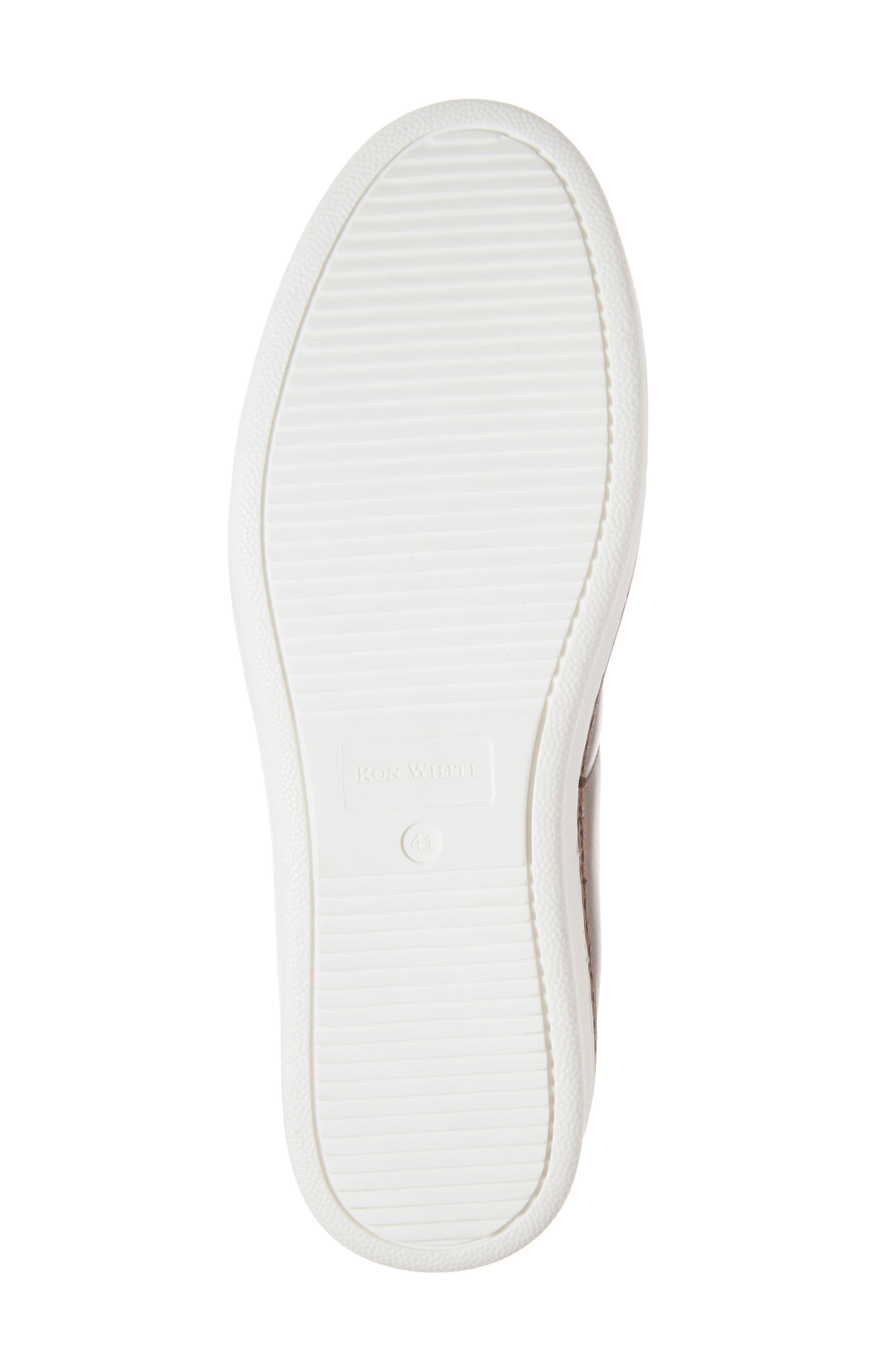 RON WHITE, Dolan Sneaker, Alternate thumbnail 6, color, 200