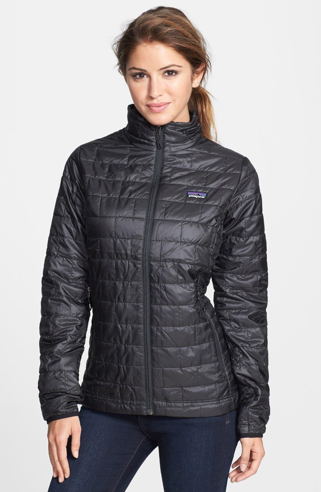 PATAGONIA, 'Nano Puff' Water Resistant Jacket, Main thumbnail 1, color, 001
