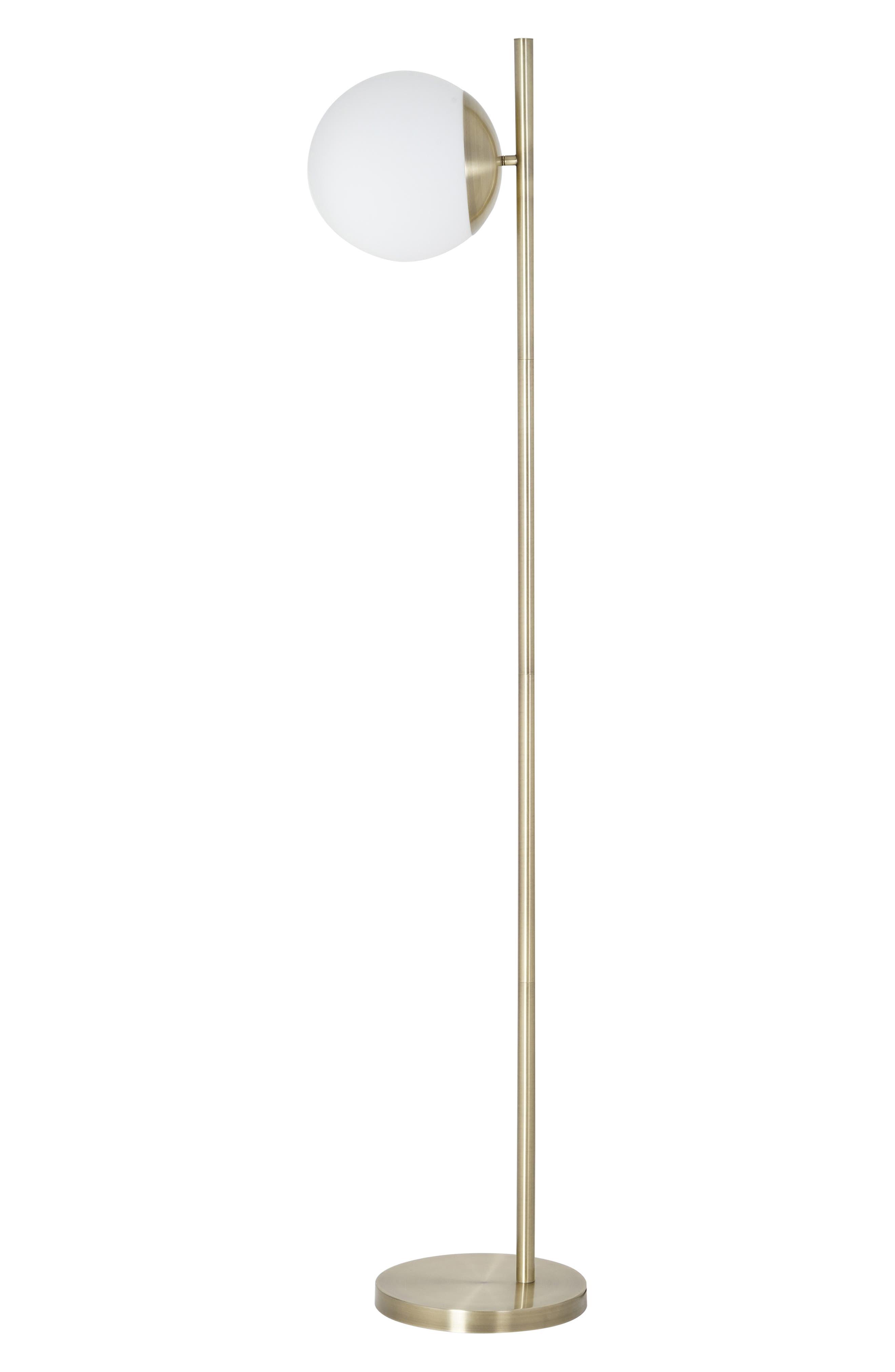 Jalexander Lighting Anderson Floor Lamp Size One Size  Metallic