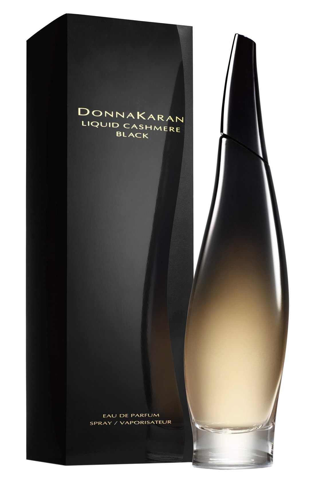 DONNA KARAN NEW YORK, Donna Karan 'Liquid Cashmere Black' Eau de Parfum, Alternate thumbnail 2, color, 000
