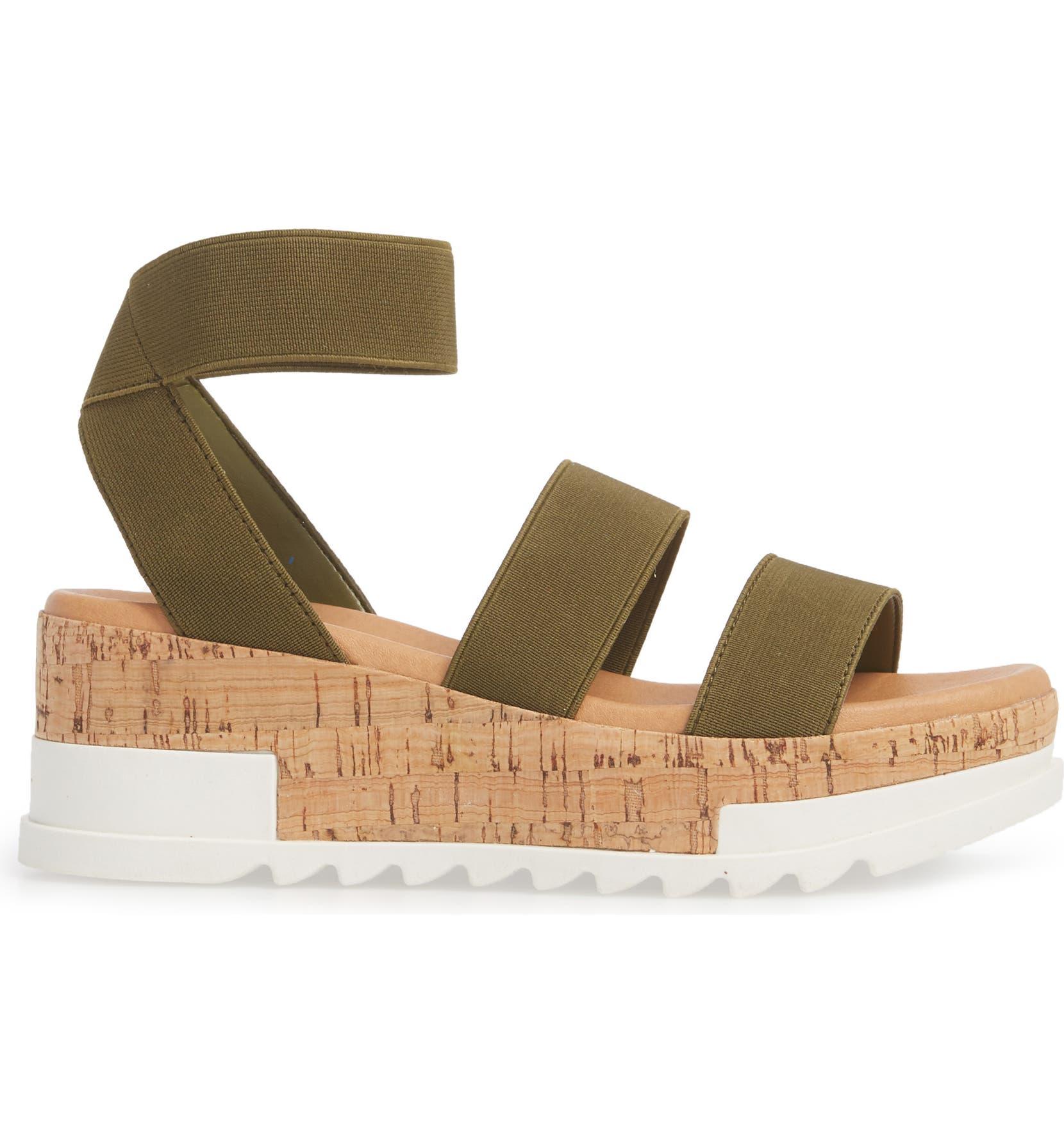 019af8ef1cd Steve Madden Bandi Platform Wedge Sandal (Women)