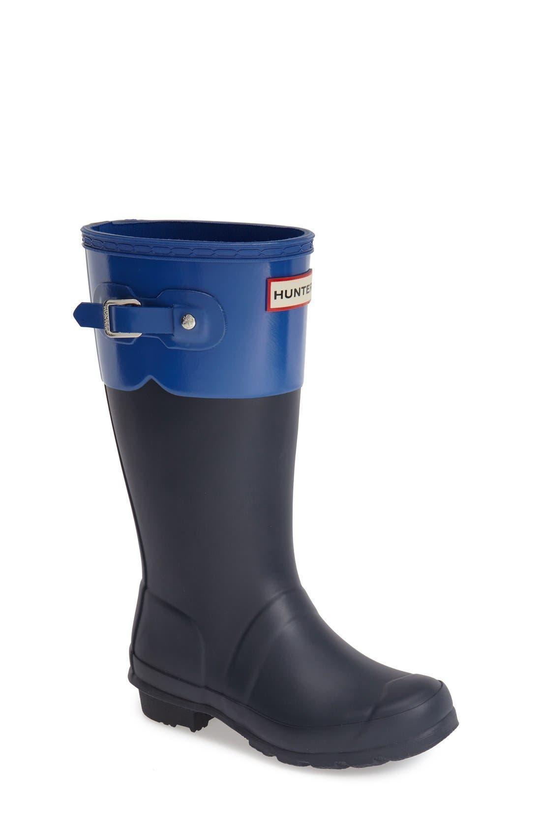 HUNTER 'Original Tonal' Rain Boot, Main, color, 410