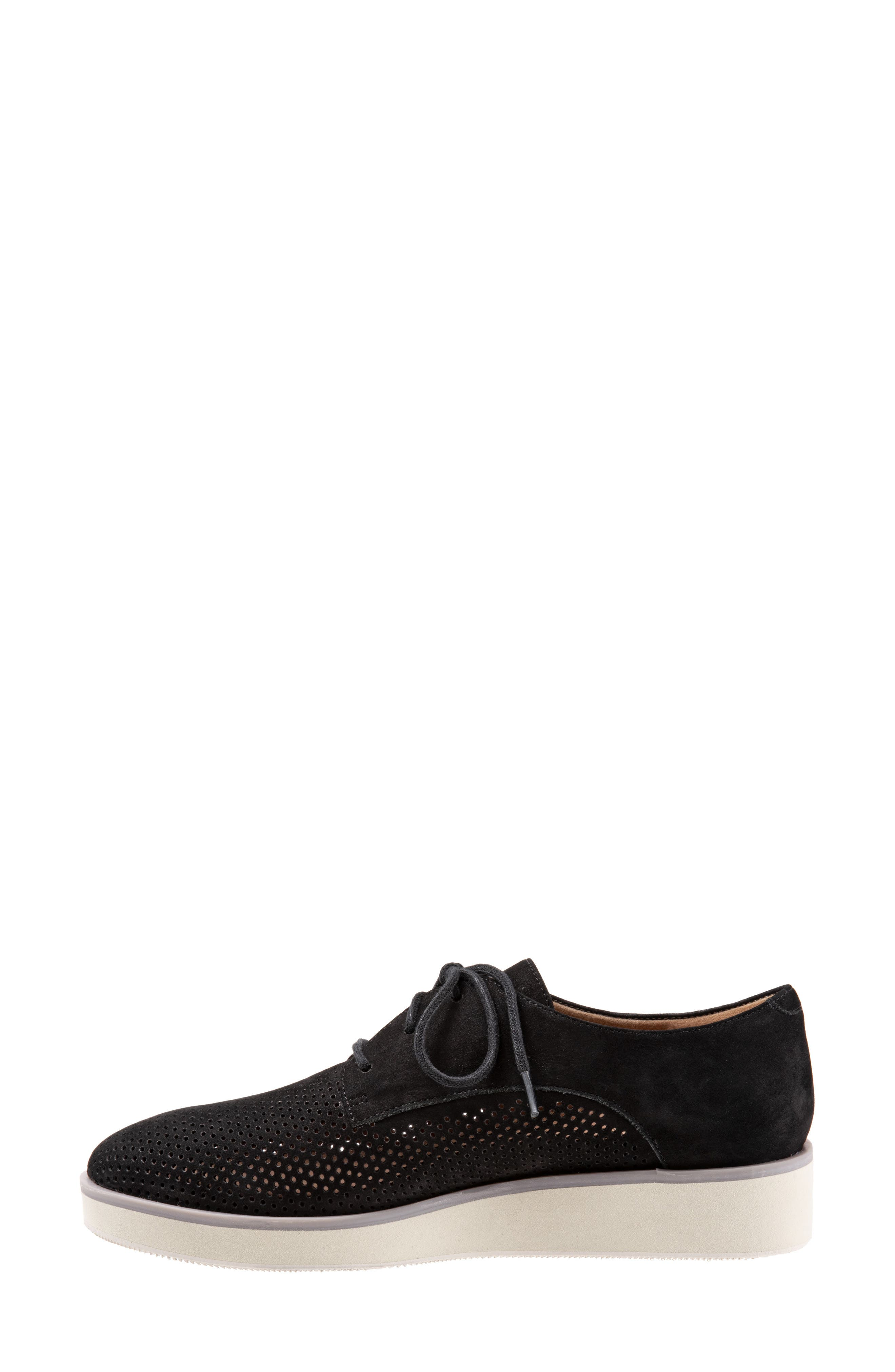 SOFTWALK<SUP>®</SUP>, Willis Derby, Alternate thumbnail 8, color, ONYX LEATHER
