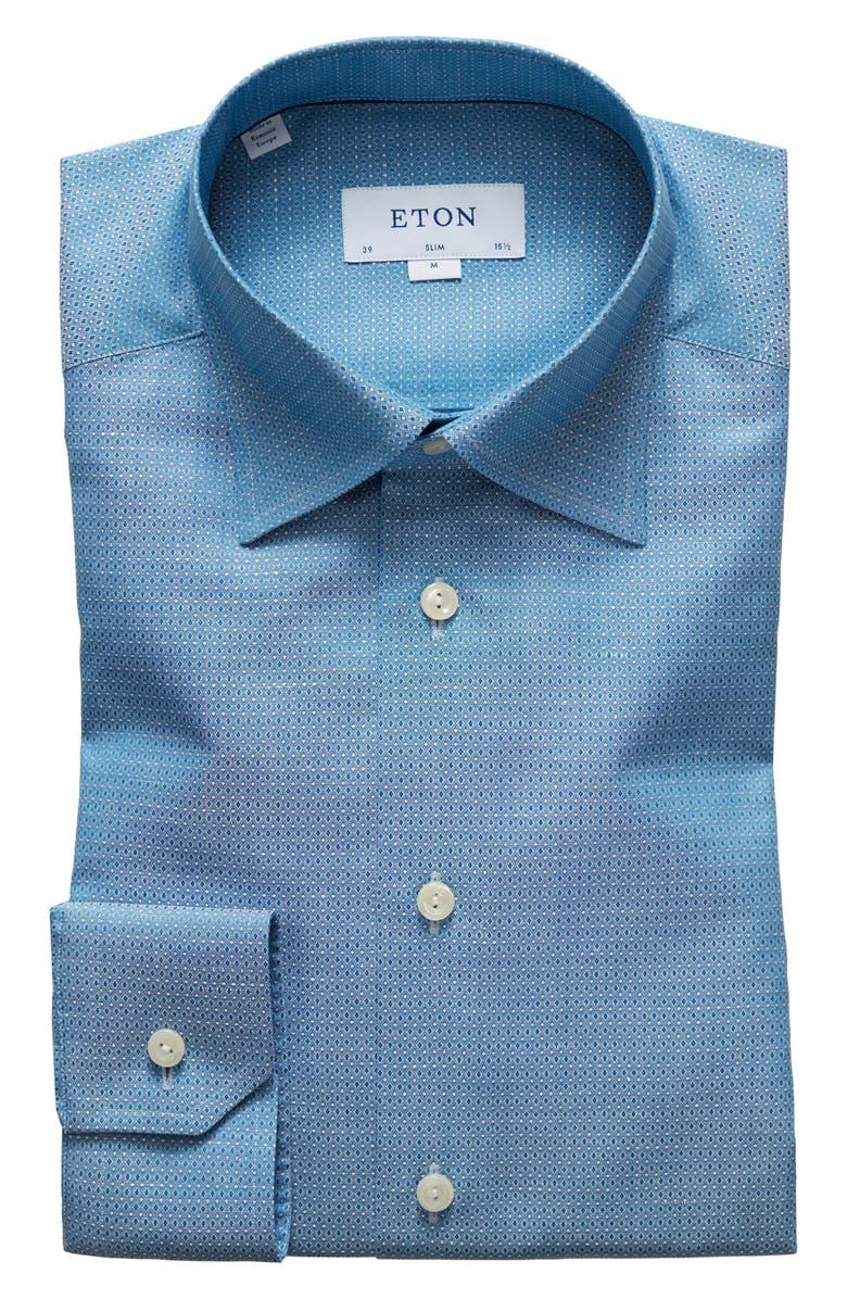 Eton Dresses SLIM FIT SOLID DRESS SHIRT