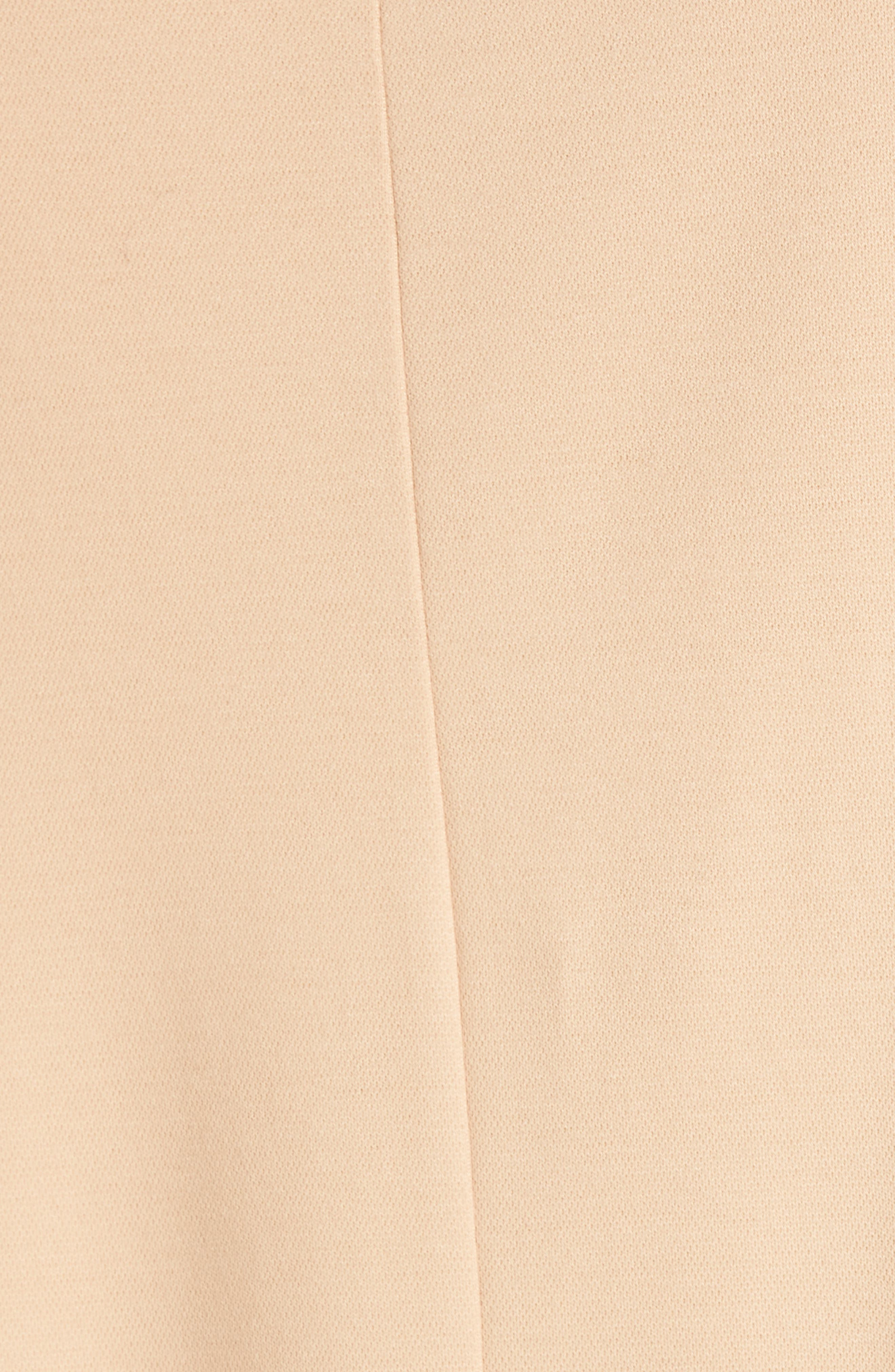 EILEEN FISHER, Bell Sleeve Top, Alternate thumbnail 5, color, ROSE WATER