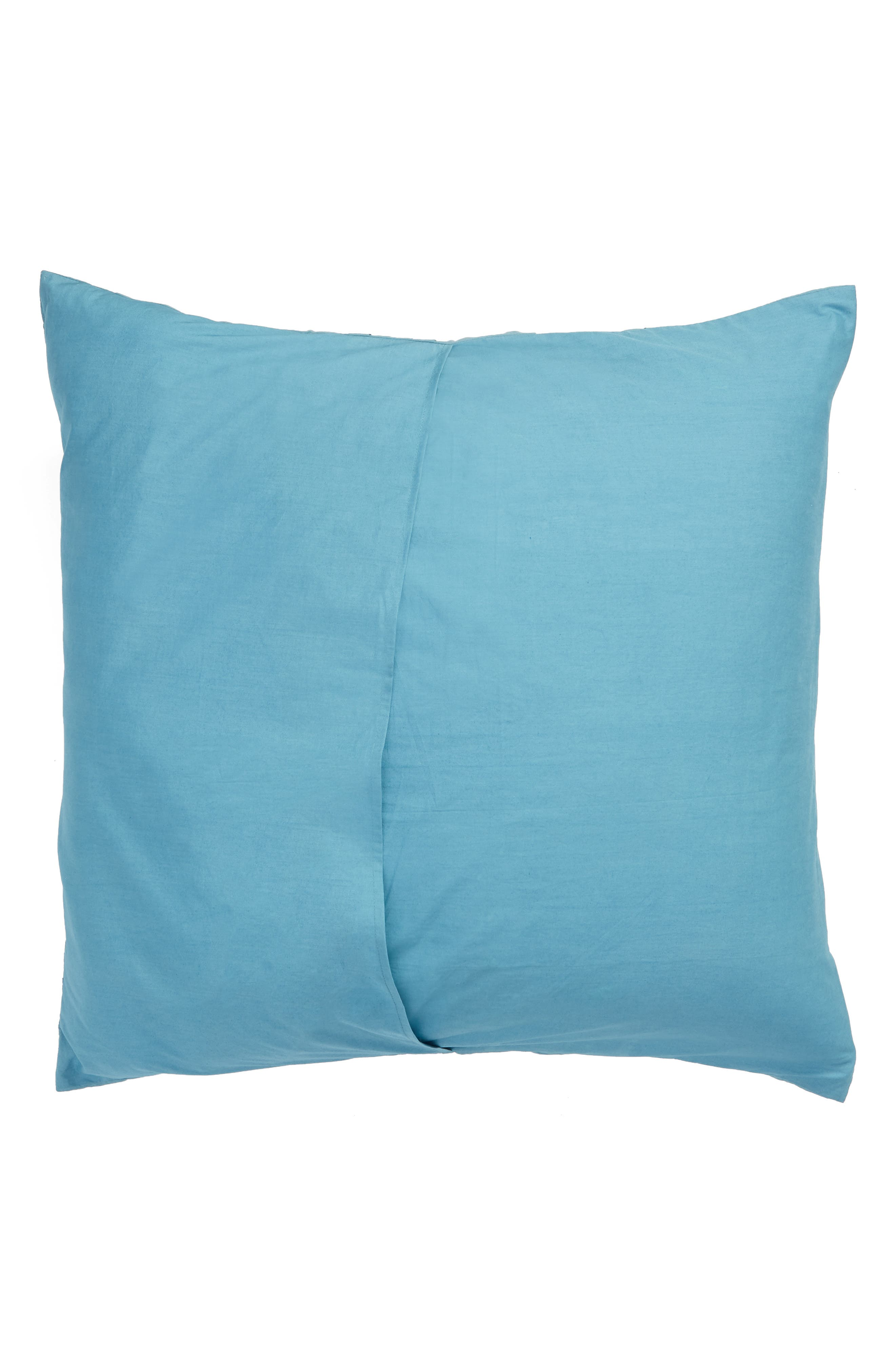 NORDSTROM AT HOME, 'Chloe' Euro Sham, Alternate thumbnail 2, color, BLUE ADRIATIC