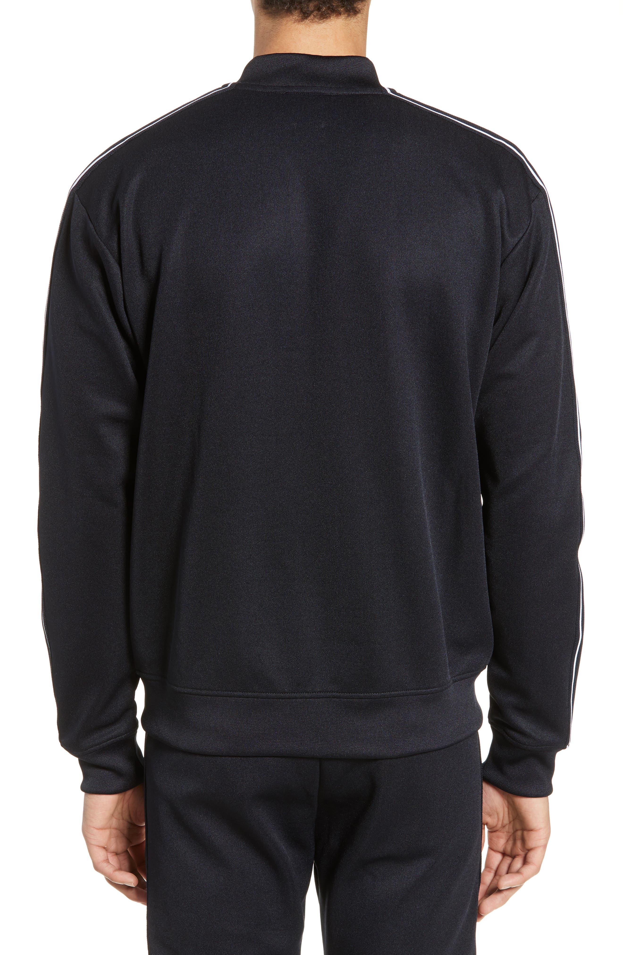 THE KOOPLES, Full Zip Sweatshirt, Alternate thumbnail 2, color, NAVY