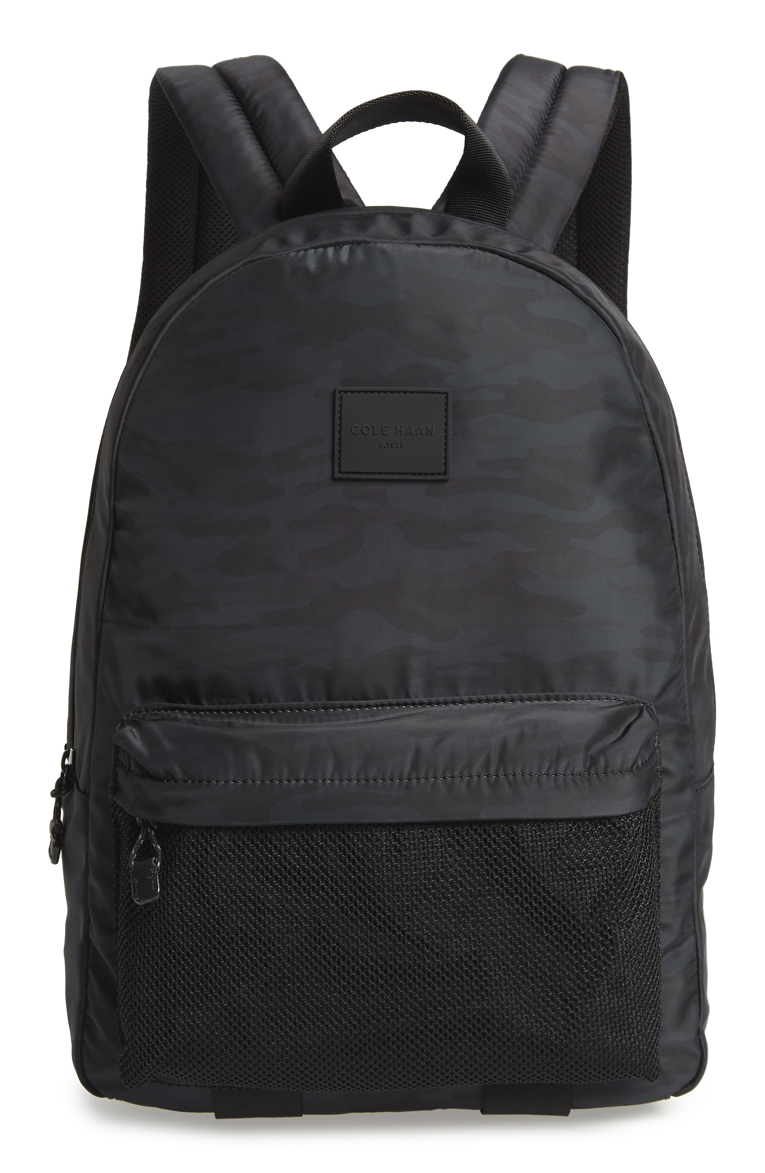 COLE HAAN Sawyer Backpack, Main, color, CAMO