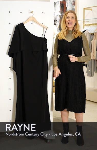 One-Shoulder Cape Gown, sales video thumbnail
