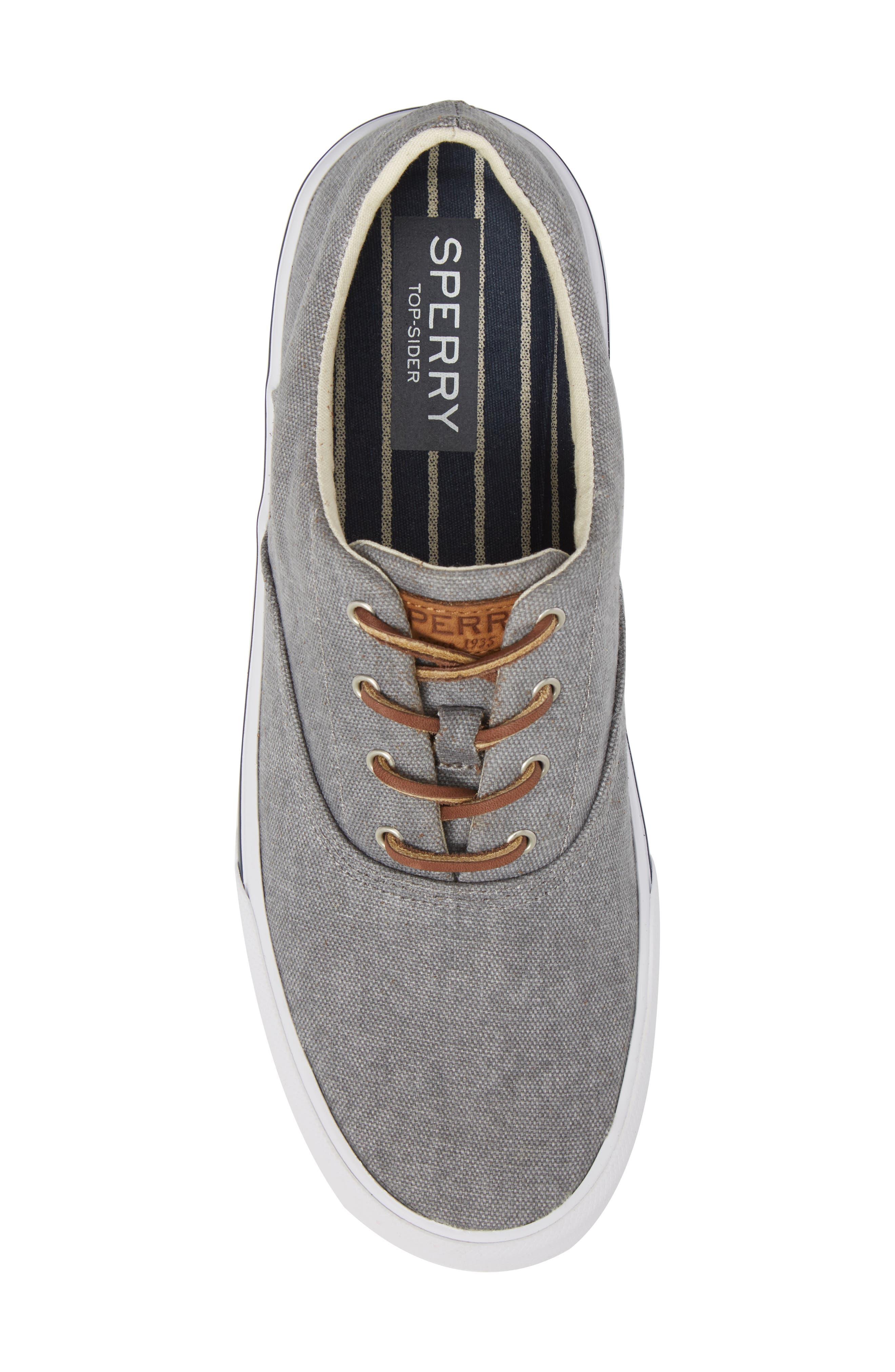 SPERRY, Striper 2 CVO Sneaker, Alternate thumbnail 5, color, 020