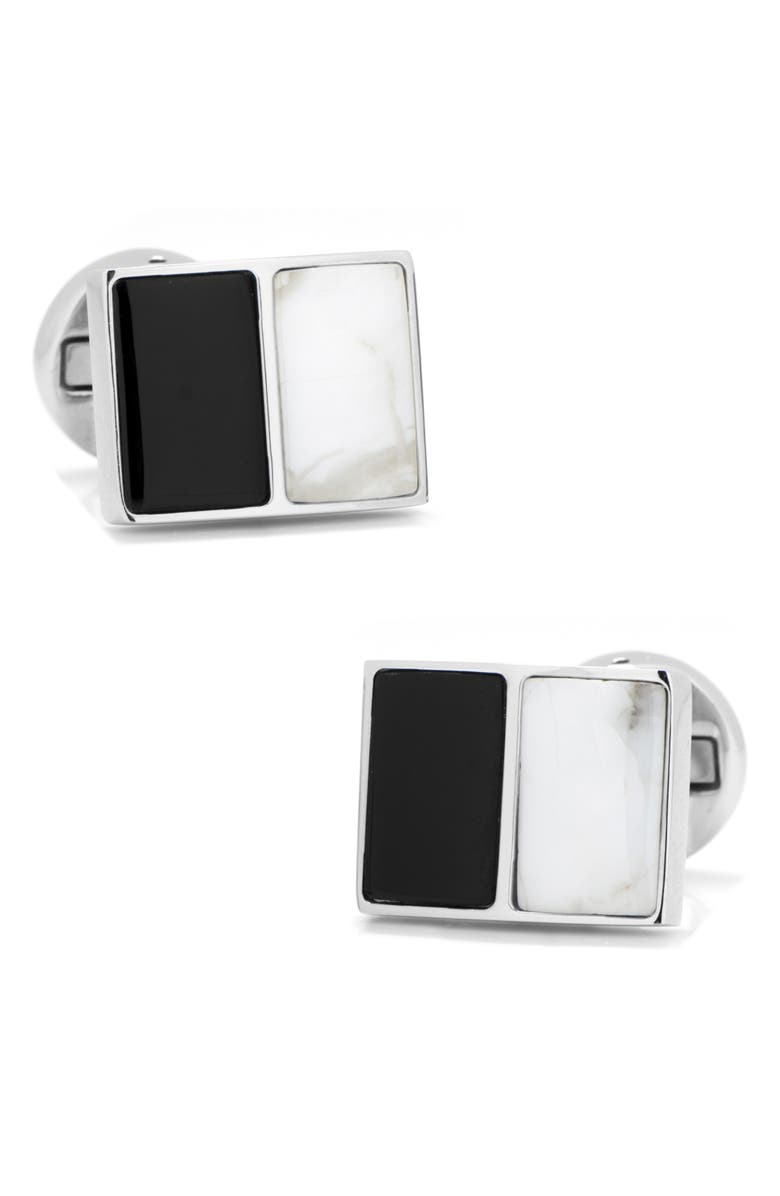 Cufflinks, Inc. Bracelets JADE & ONYX CUFF LINKS