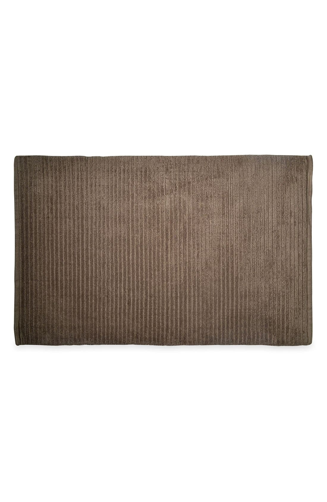 DKNY Mercer Bath Rug, Main, color, GREYSTONE