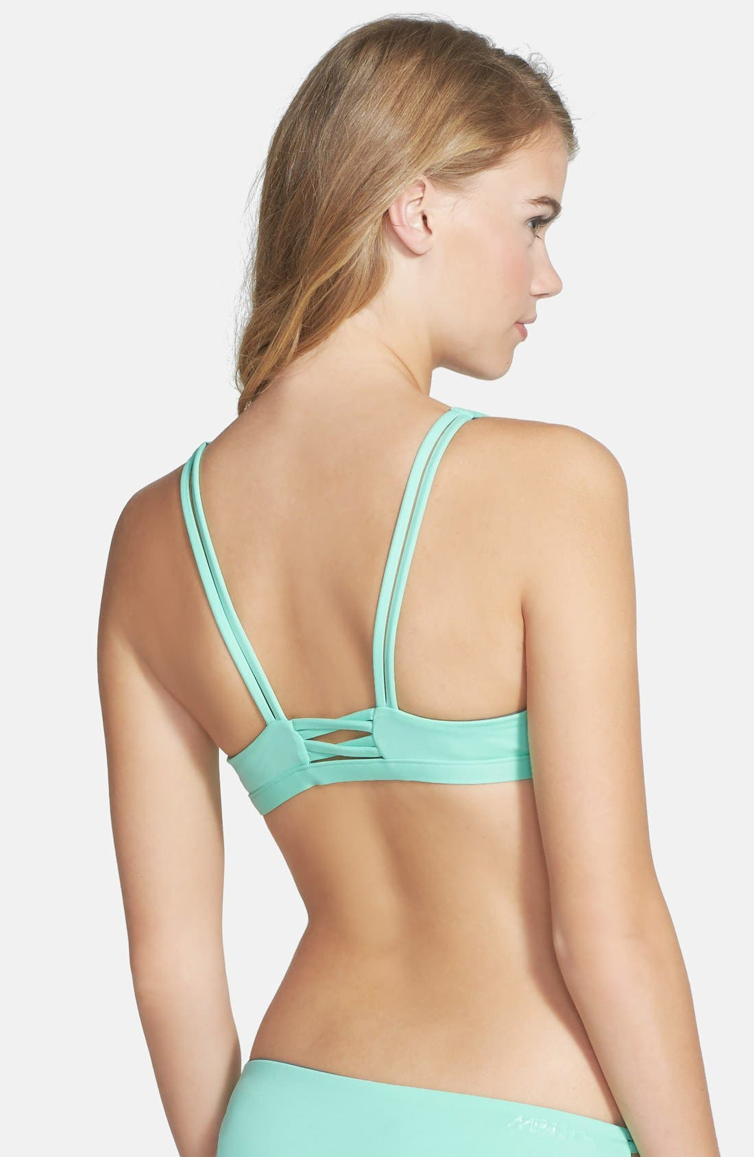 RIP CURL, 'Mirage' Reversible Bikini Top, Alternate thumbnail 6, color, 300