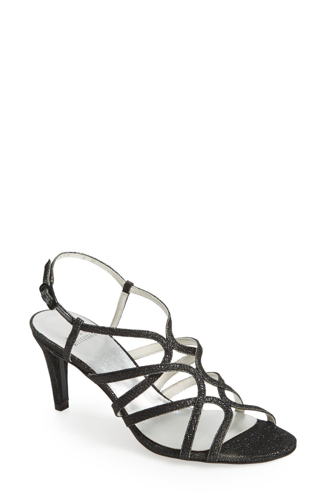 STUART WEITZMAN 'Turningup' Sandal, Main, color, 004