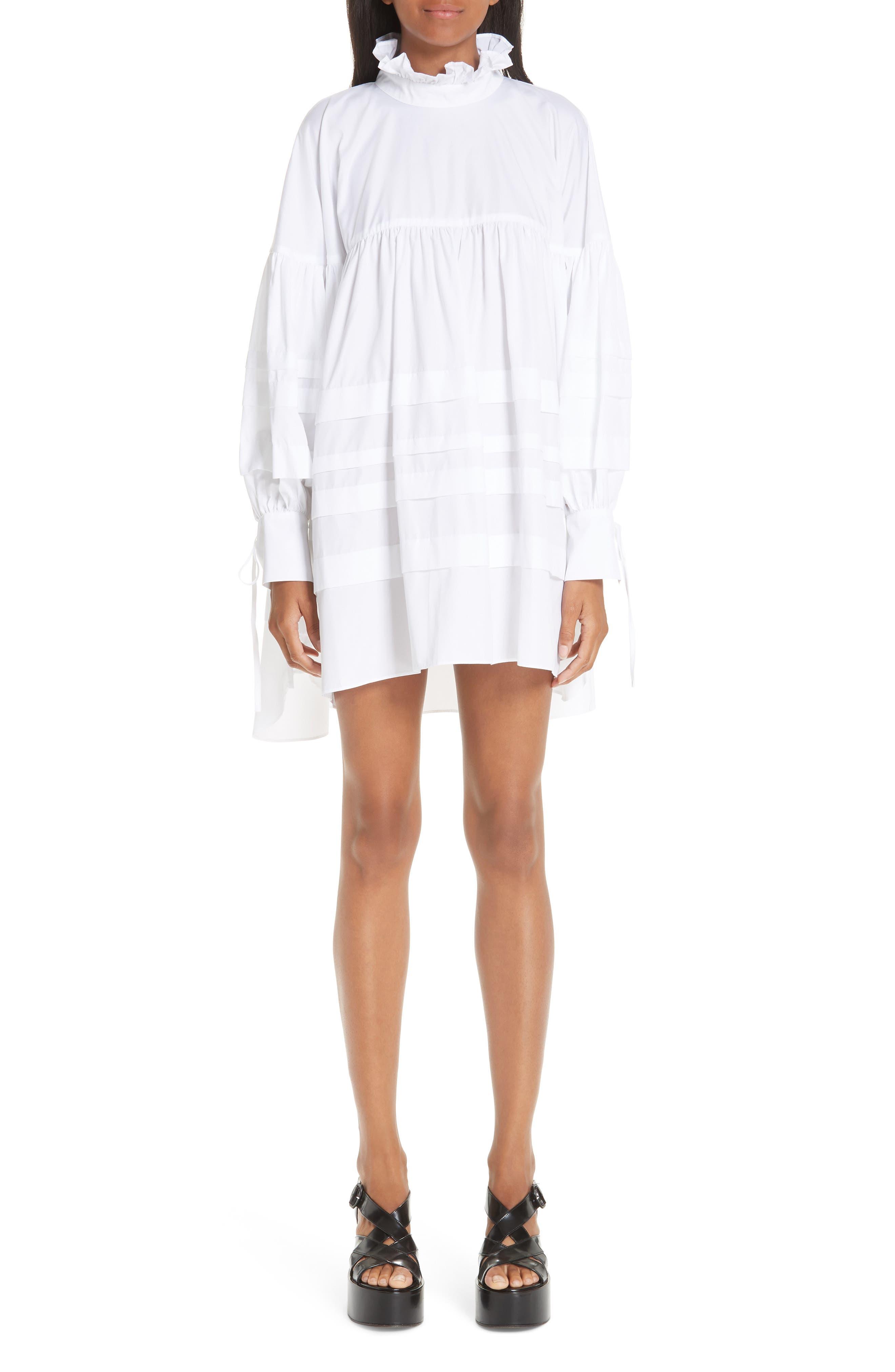 Cecilie Bahnsen Alberte Dress, US / 12 UK - White