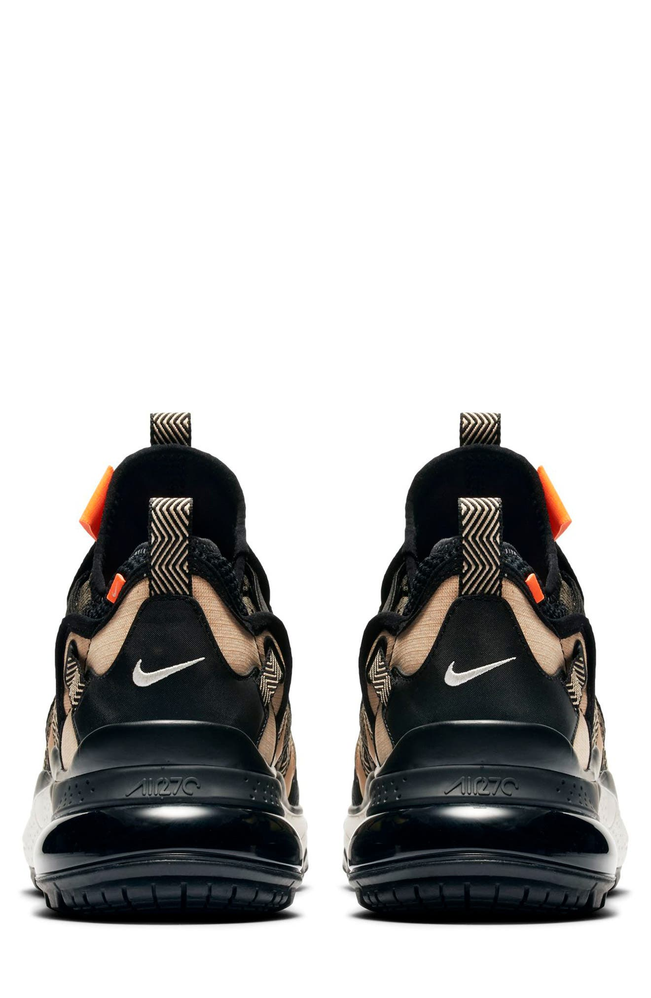 NIKE, Air Max 270 Bowfin Sneaker, Alternate thumbnail 5, color, 251