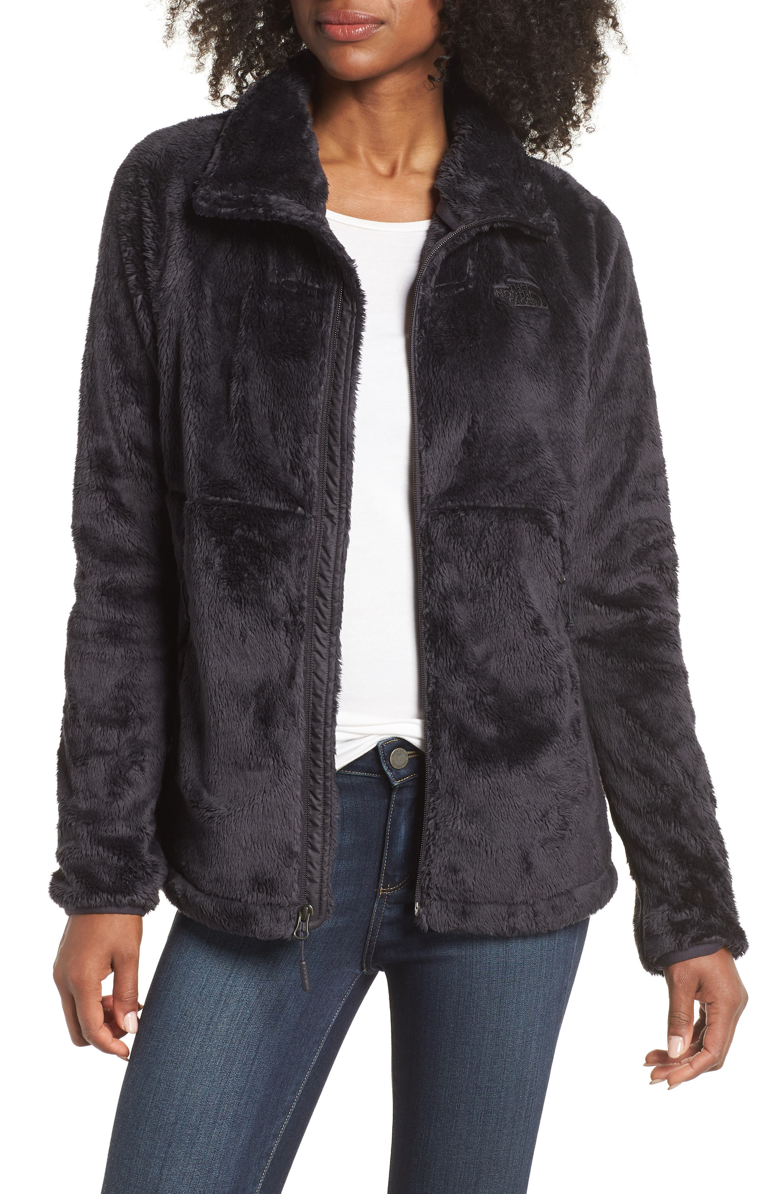 THE NORTH FACE, Osito Sport Hybrid Jacket, Main thumbnail 1, color, WEATHERED BLACK