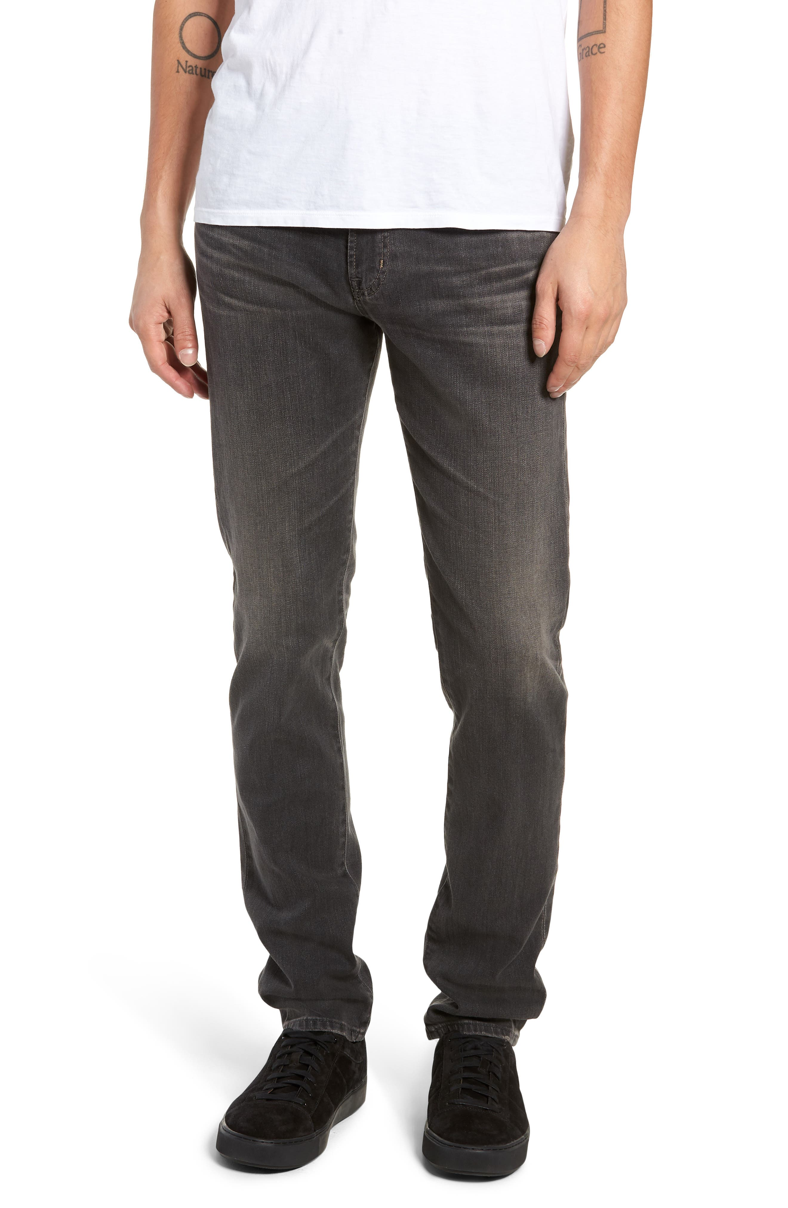 AG, Dylan Skinny Fit Jeans, Main thumbnail 1, color, 014