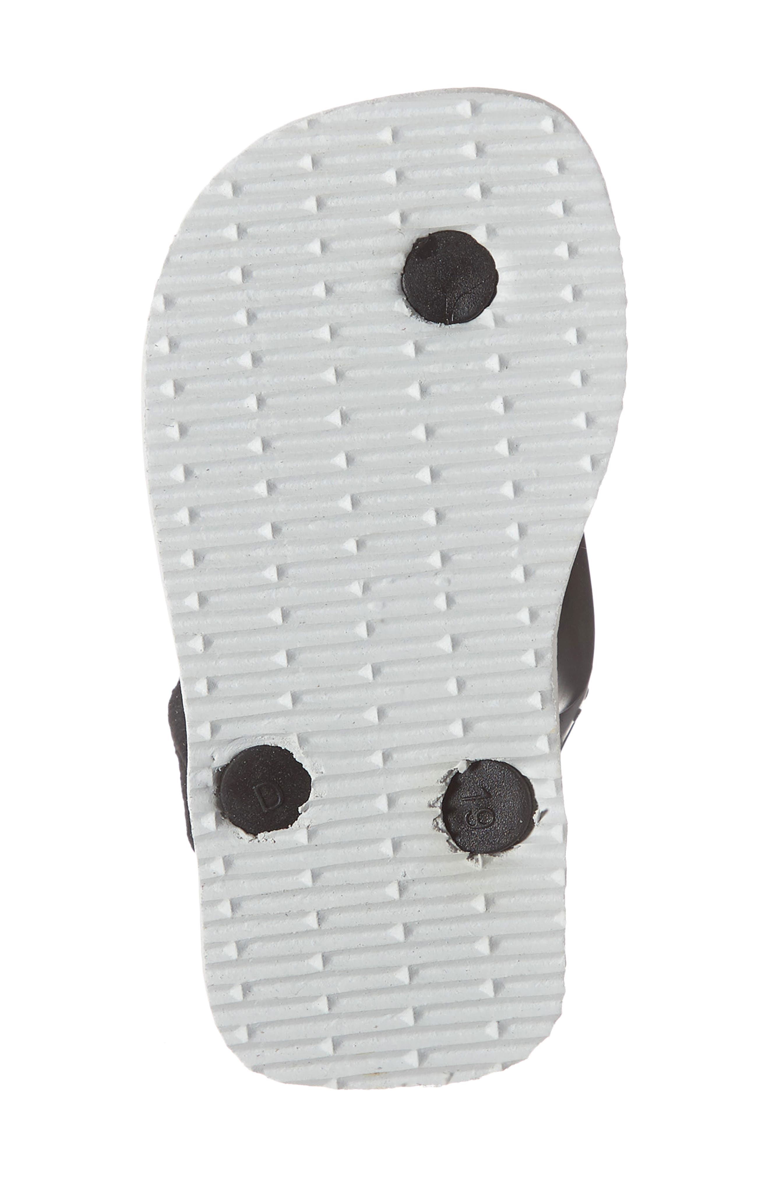 HAVAIANAS, Havianas Baby Chic Sandal, Alternate thumbnail 6, color, WHITE