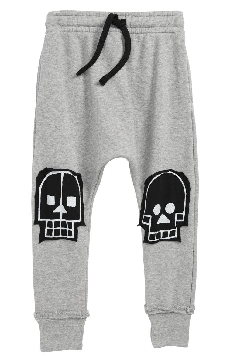 ad86238a5 Nununu Skull Robot Patch Baggy Pants (Toddler Boys, Little Boys ...