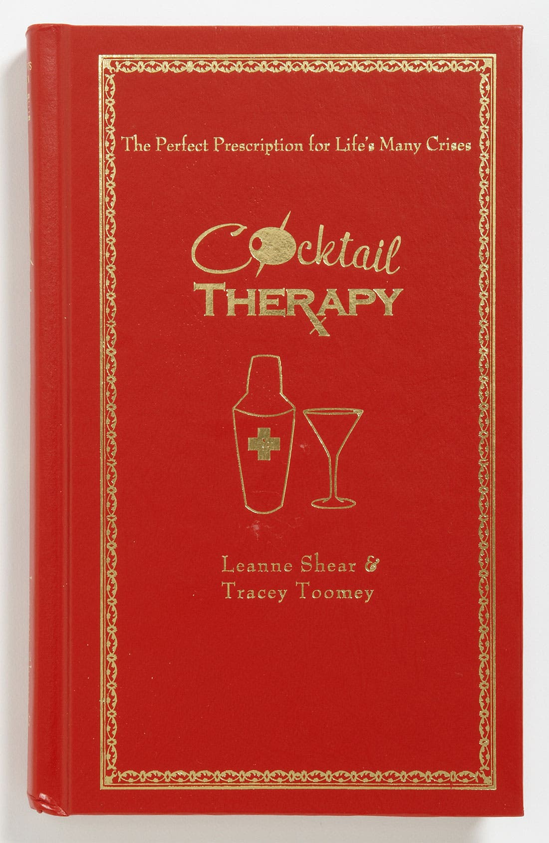 SIMON AND SCHUSTER 'Cocktail Therapy' Guide Book, Main, color, 960