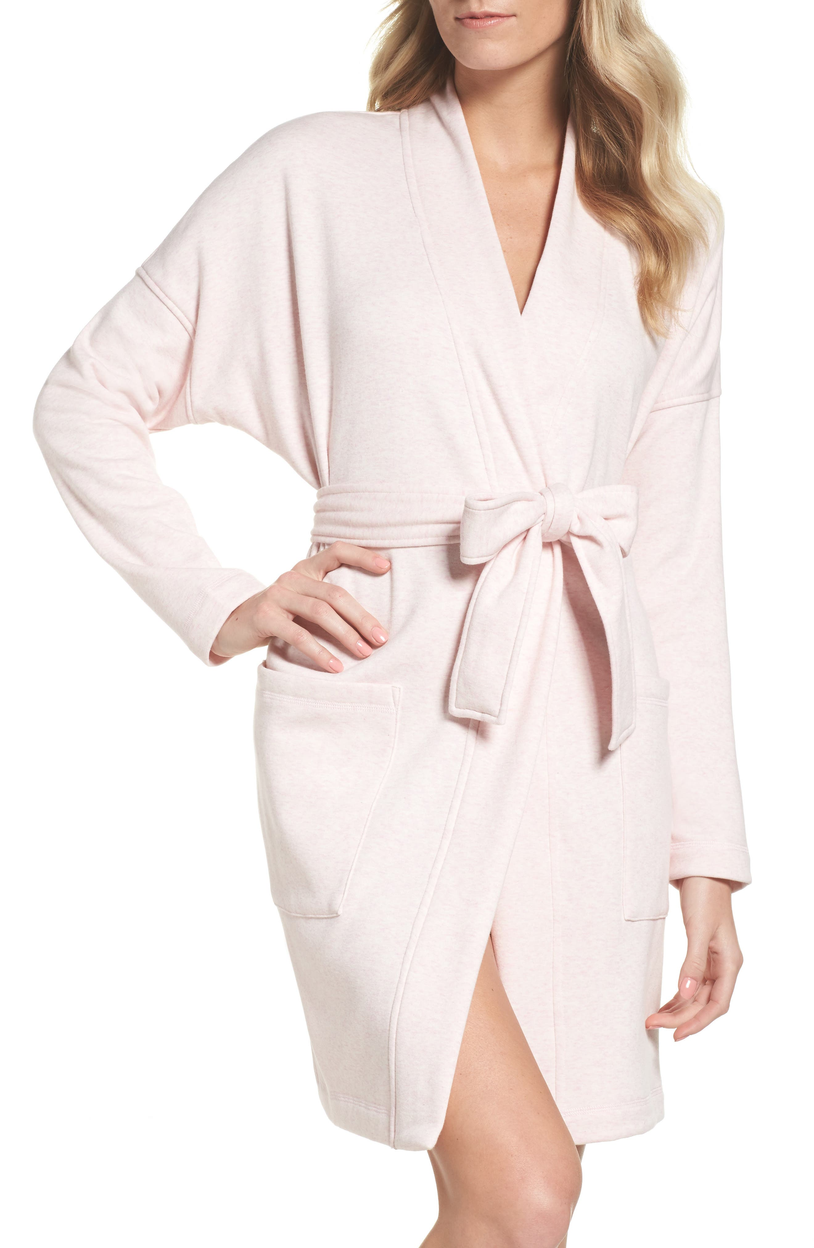 UGG<SUP>®</SUP> Braelyn Robe, Main, color, SEASHELL PINK HEATHER