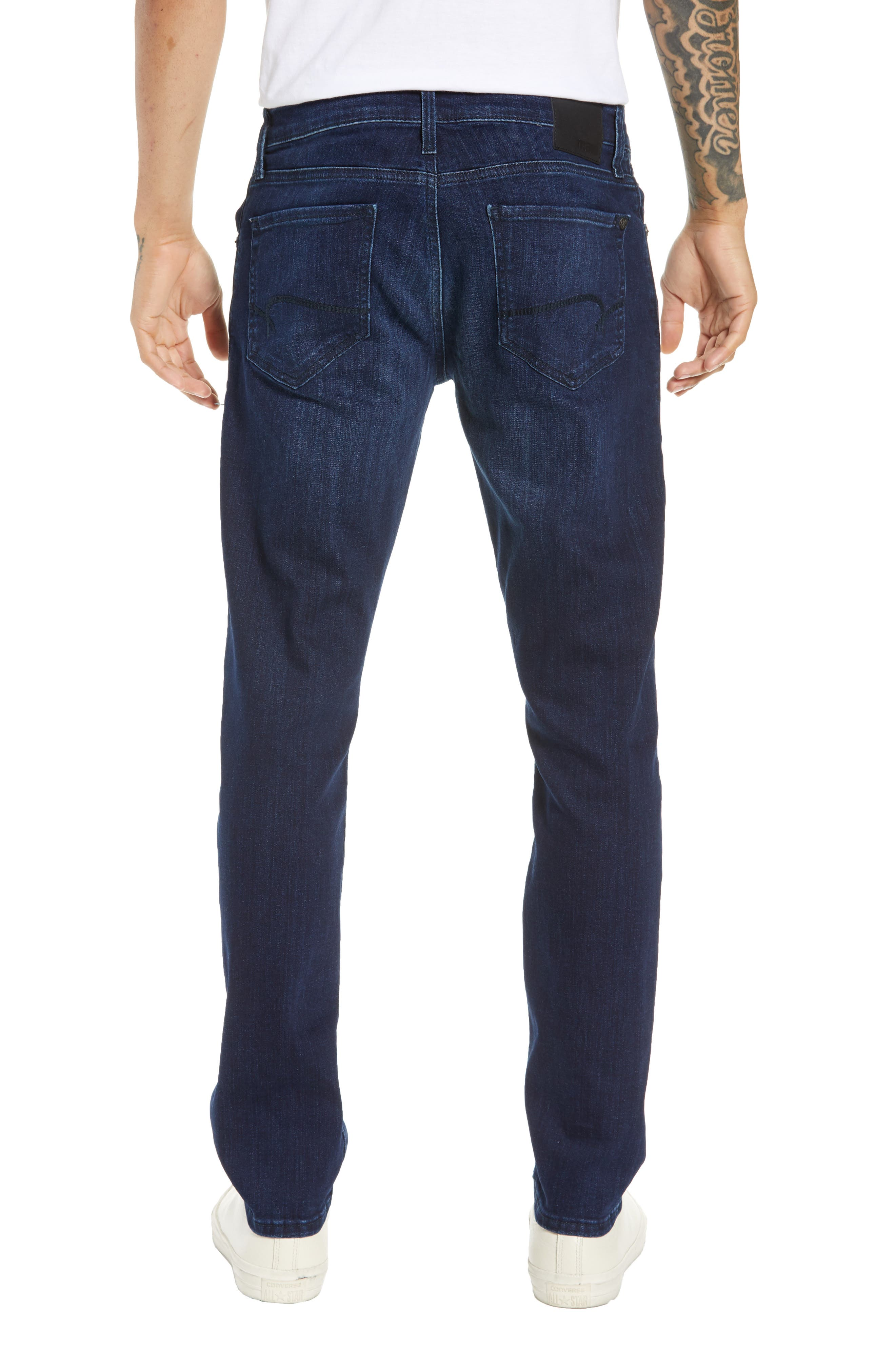 MAVI JEANS, Jake Slim Fit Jeans, Alternate thumbnail 2, color, DARK TONAL WILLIAMSBURG