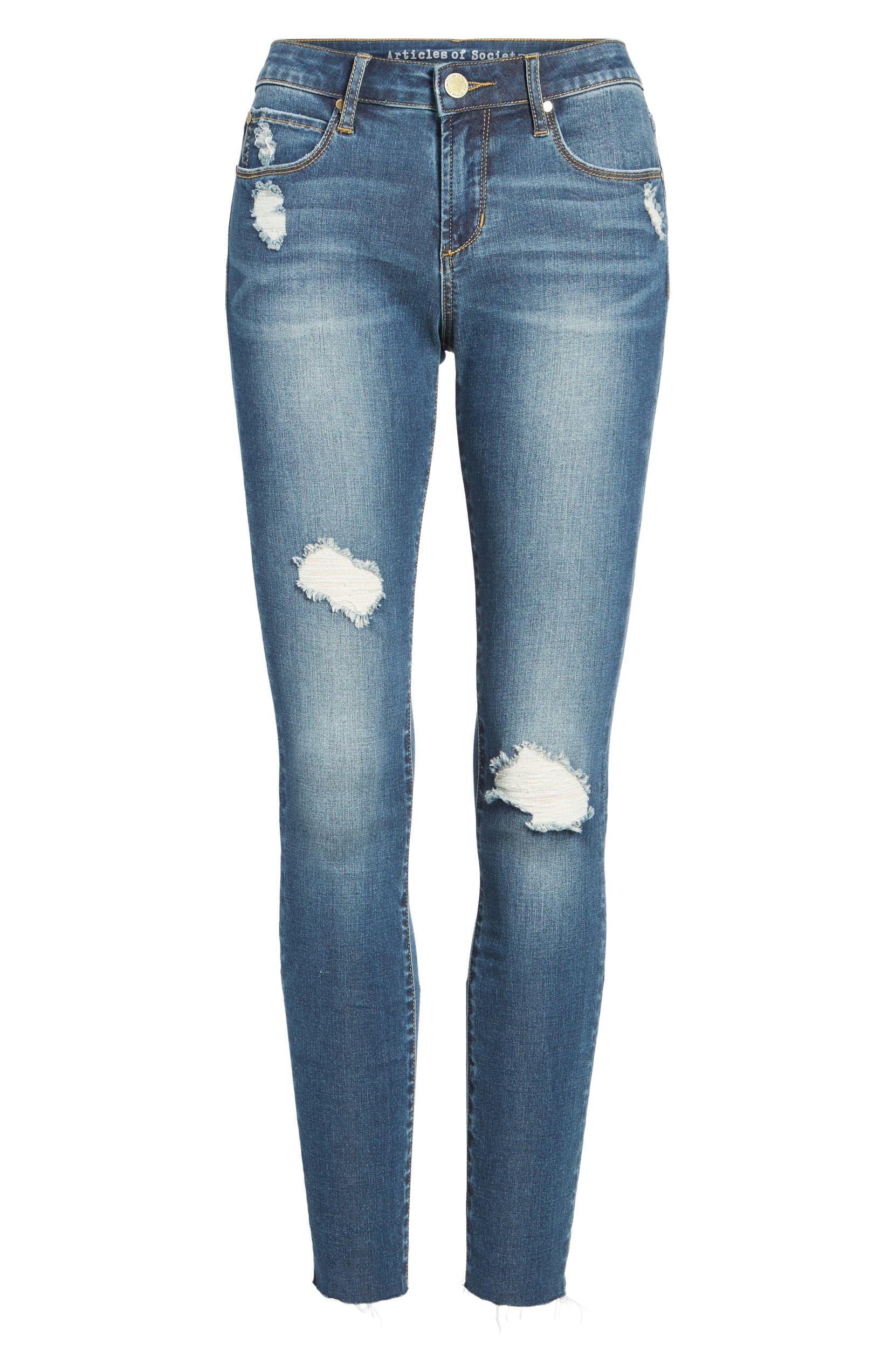 5395dbf624fd Articles of Society Sarah Skinny Jeans (Prairie)