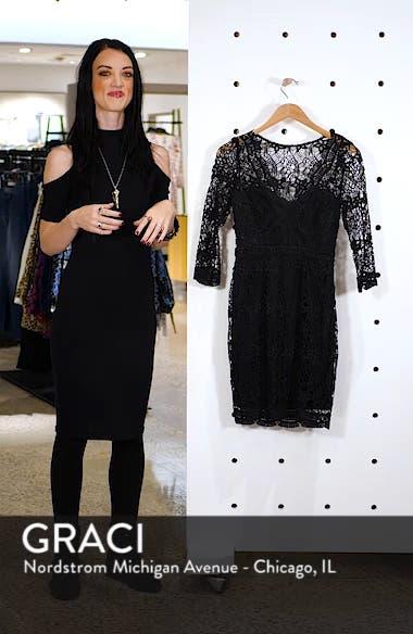 Lace Cocktail Dress, sales video thumbnail