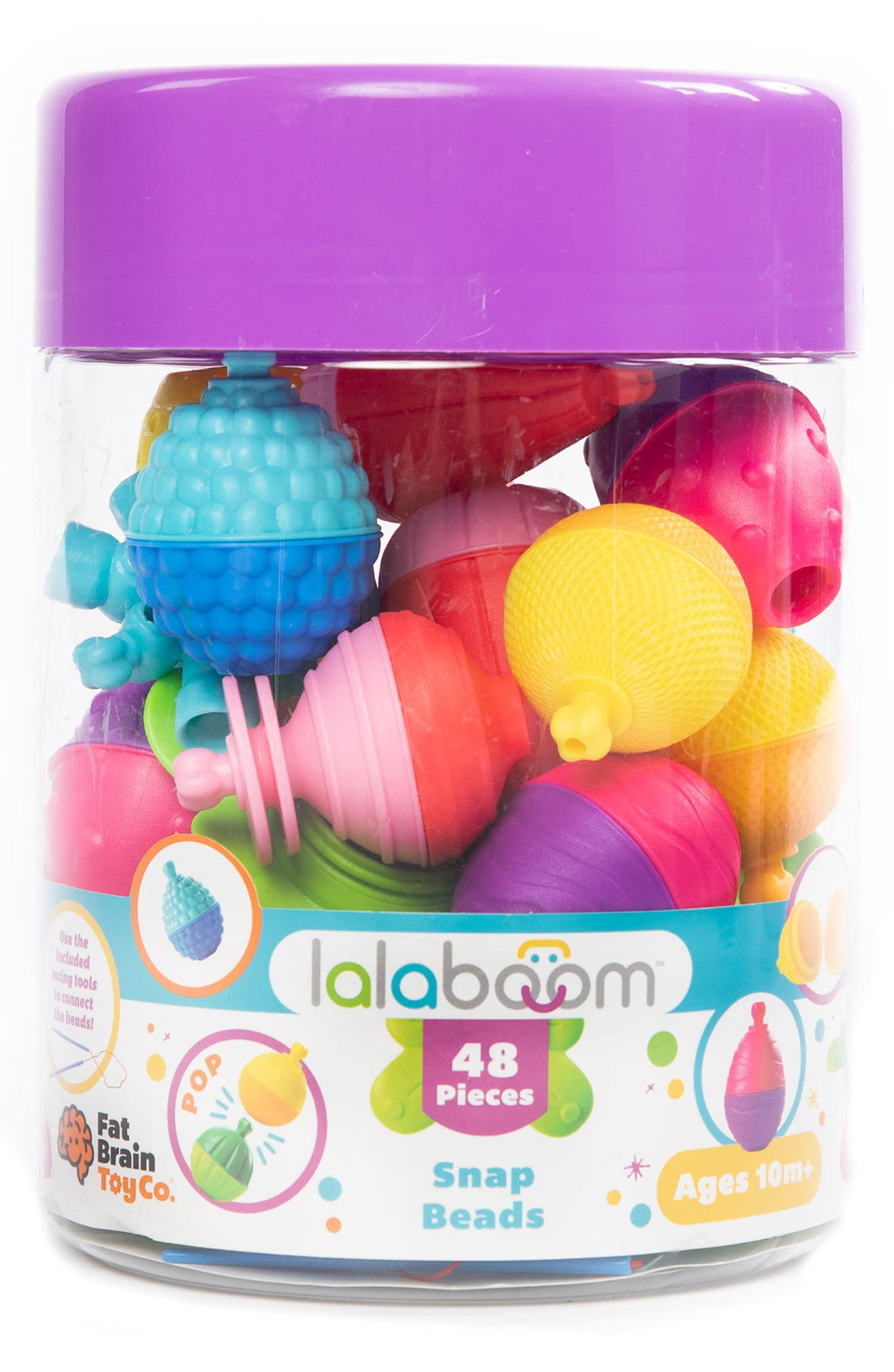 FAT BRAIN TOYS, LalaBoom Play Toy Set, Alternate thumbnail 2, color, PURPLE