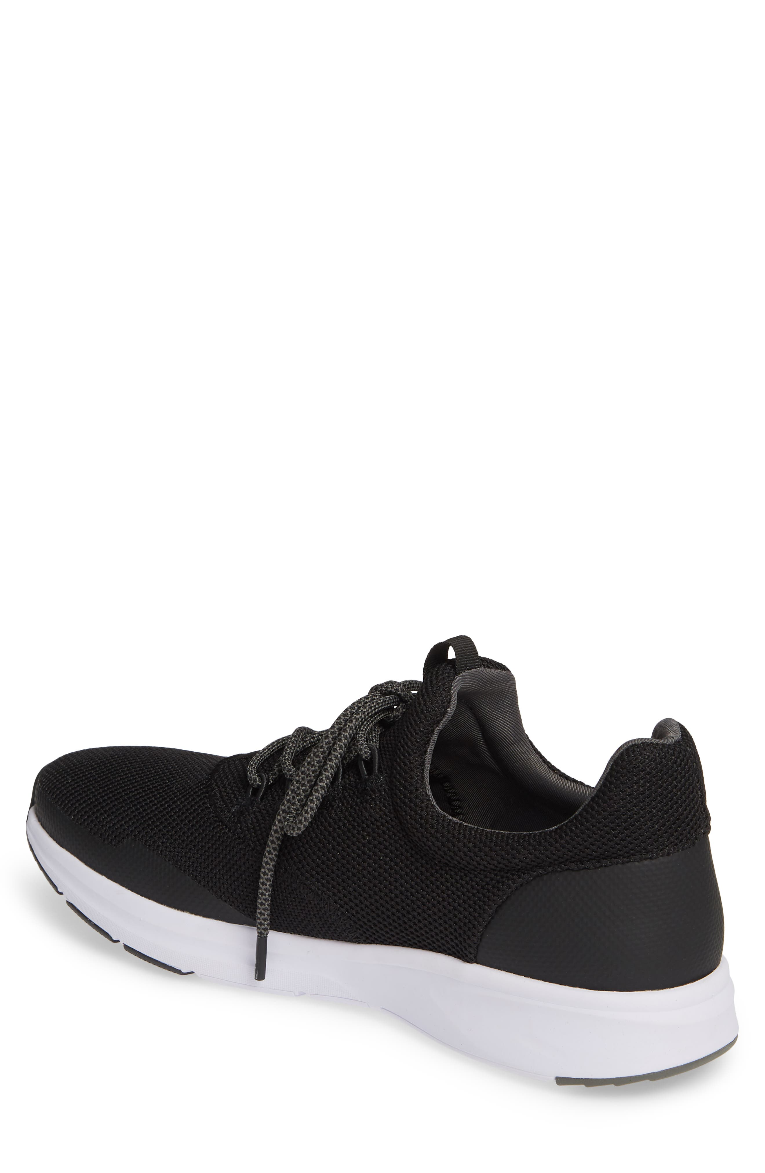 THE RAIL, Axel Sneaker, Alternate thumbnail 2, color, BLACK