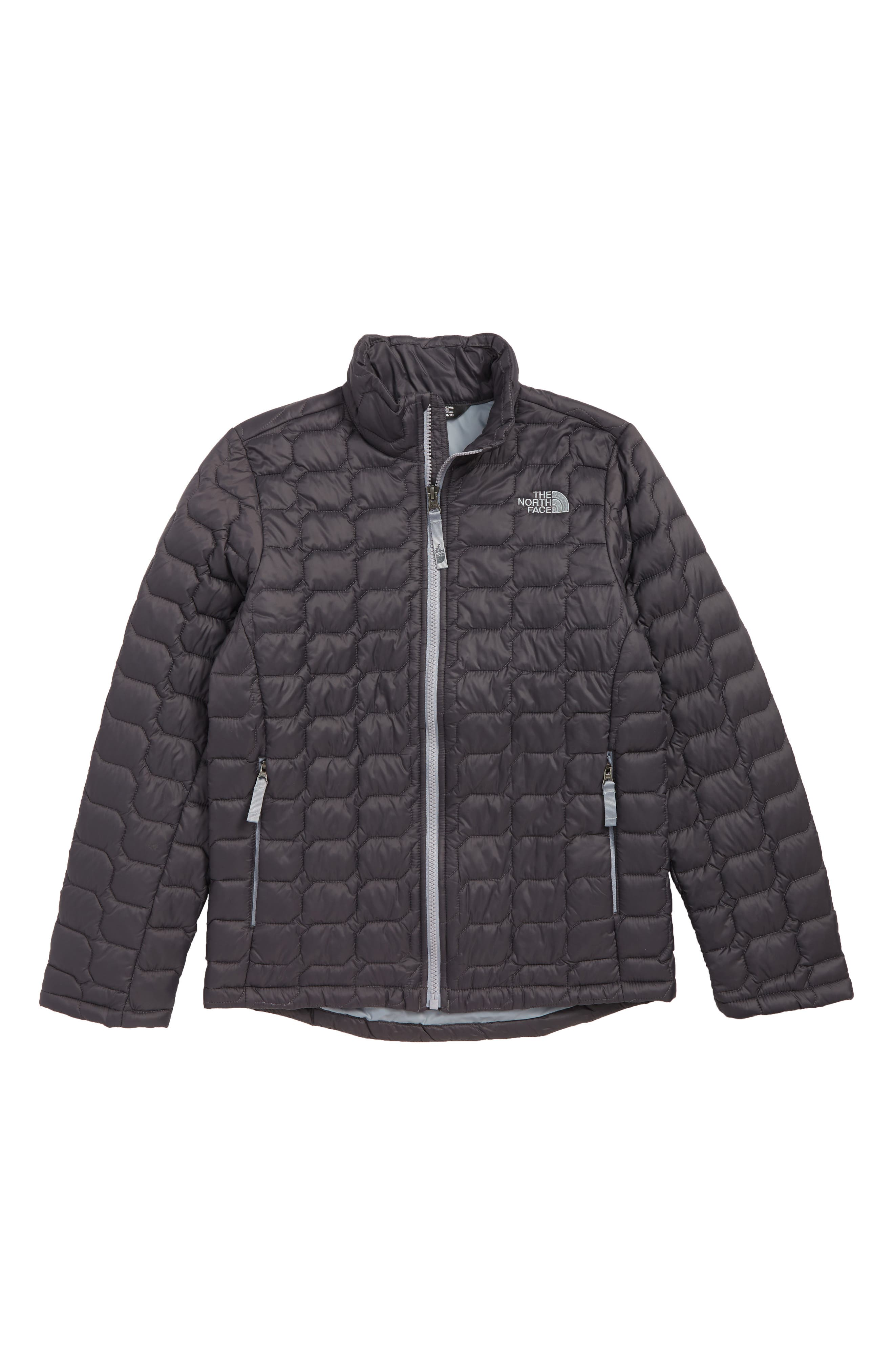 THE NORTH FACE, ThermoBall<sup>™</sup> PrimaLoft<sup>®</sup> Packable Jacket, Main thumbnail 1, color, GRAPHITE GREY