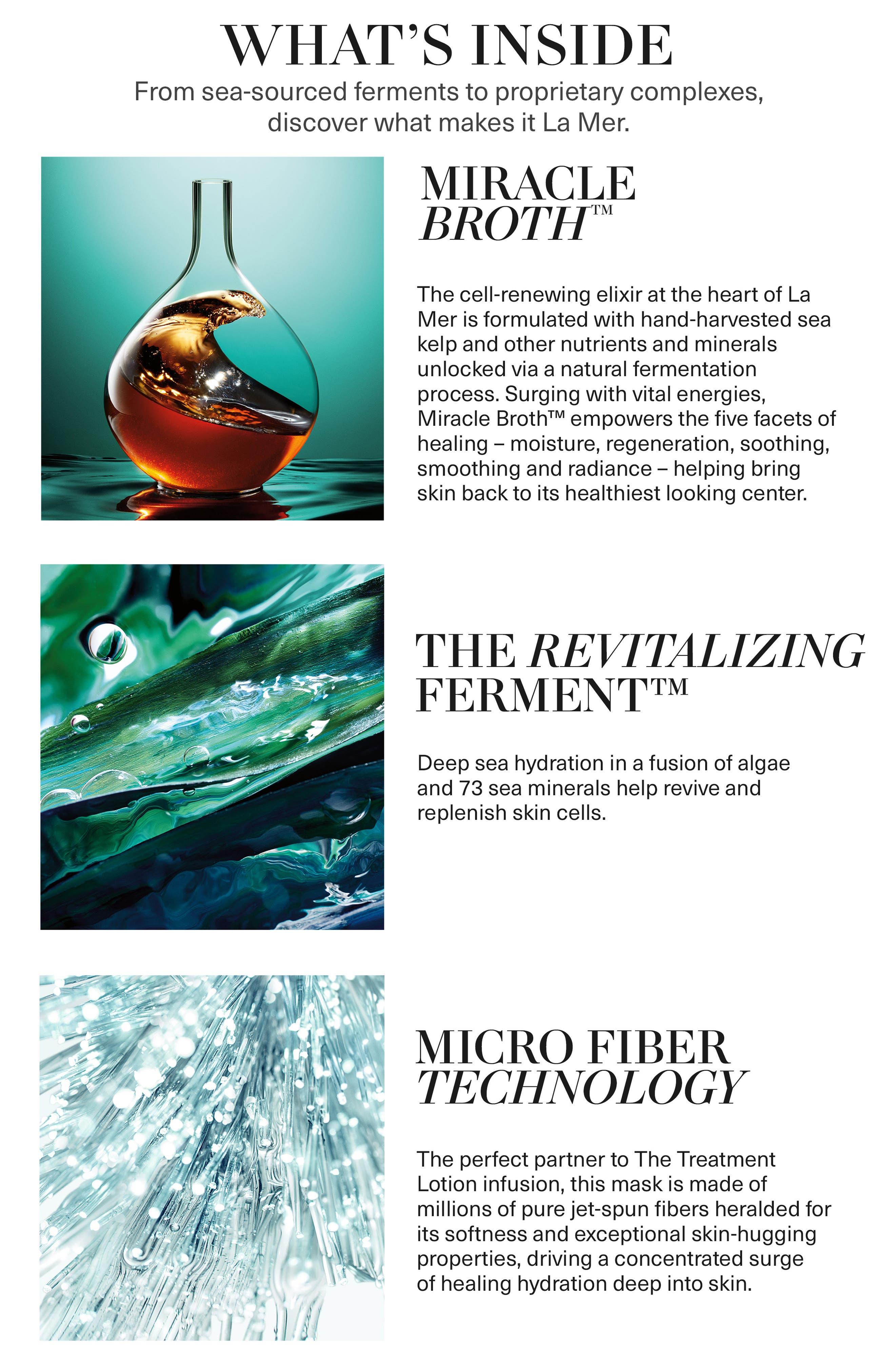 LA MER, The Treatment Lotion Hydrating Mask, Alternate thumbnail 4, color, NO COLOR