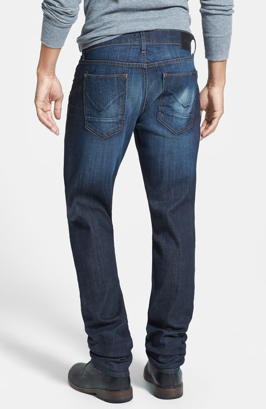 HUDSON JEANS, 'Blake' Slim Fit Jeans, Alternate thumbnail 5, color, 409