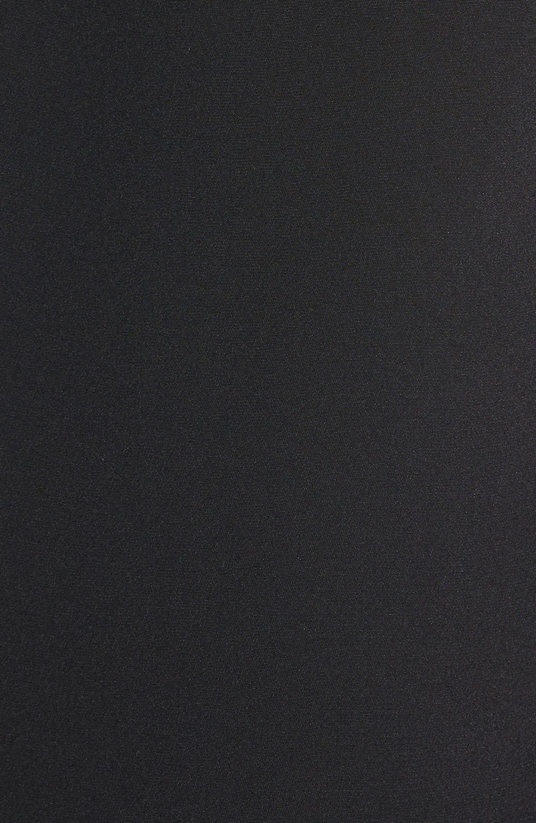 REBECCA MINKOFF, 'Becky' Long Tuxedo Blazer, Alternate thumbnail 3, color, 001
